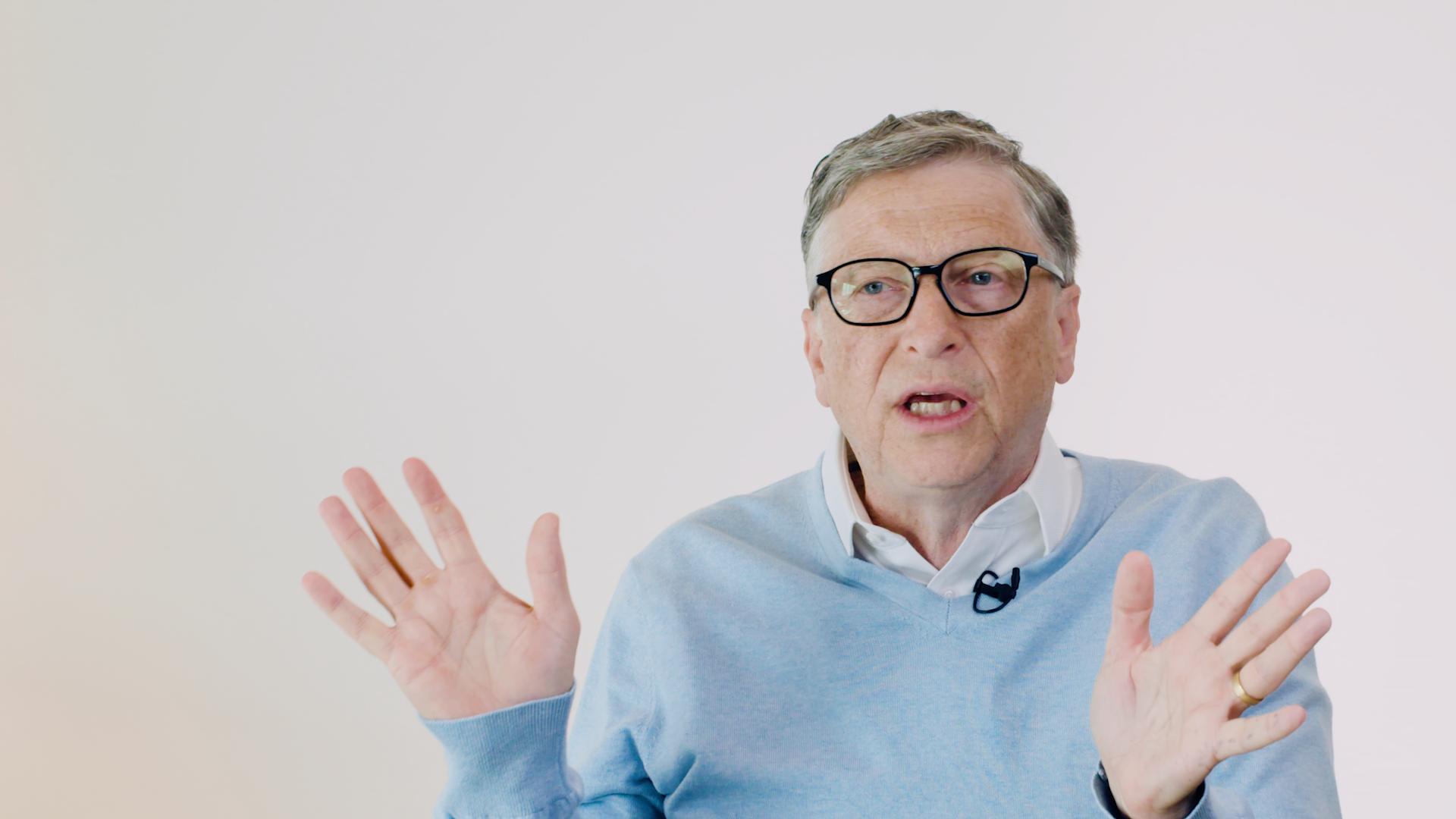 Bill Gates chats data privacy