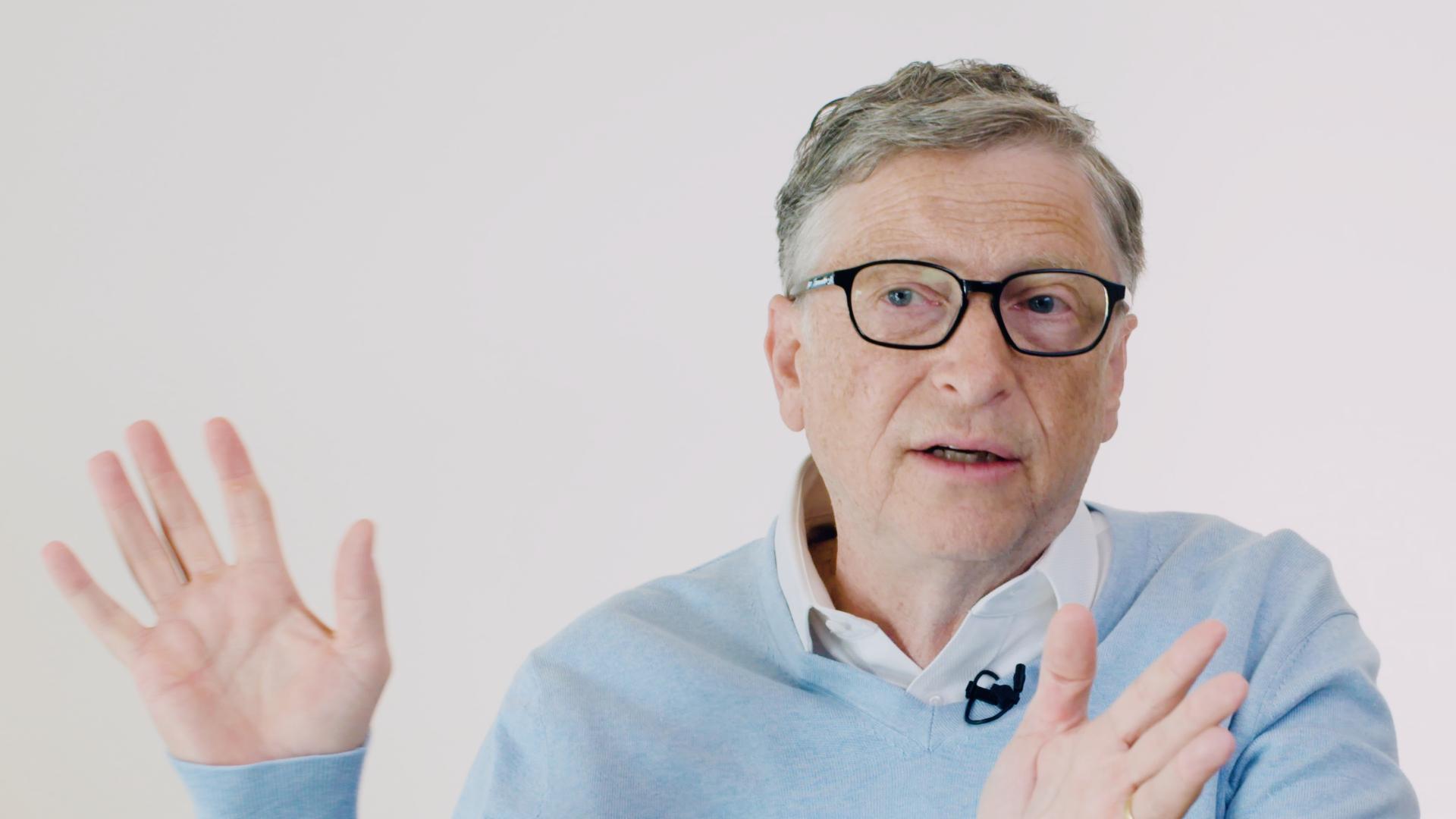 Bill Gates chats meta-skills.