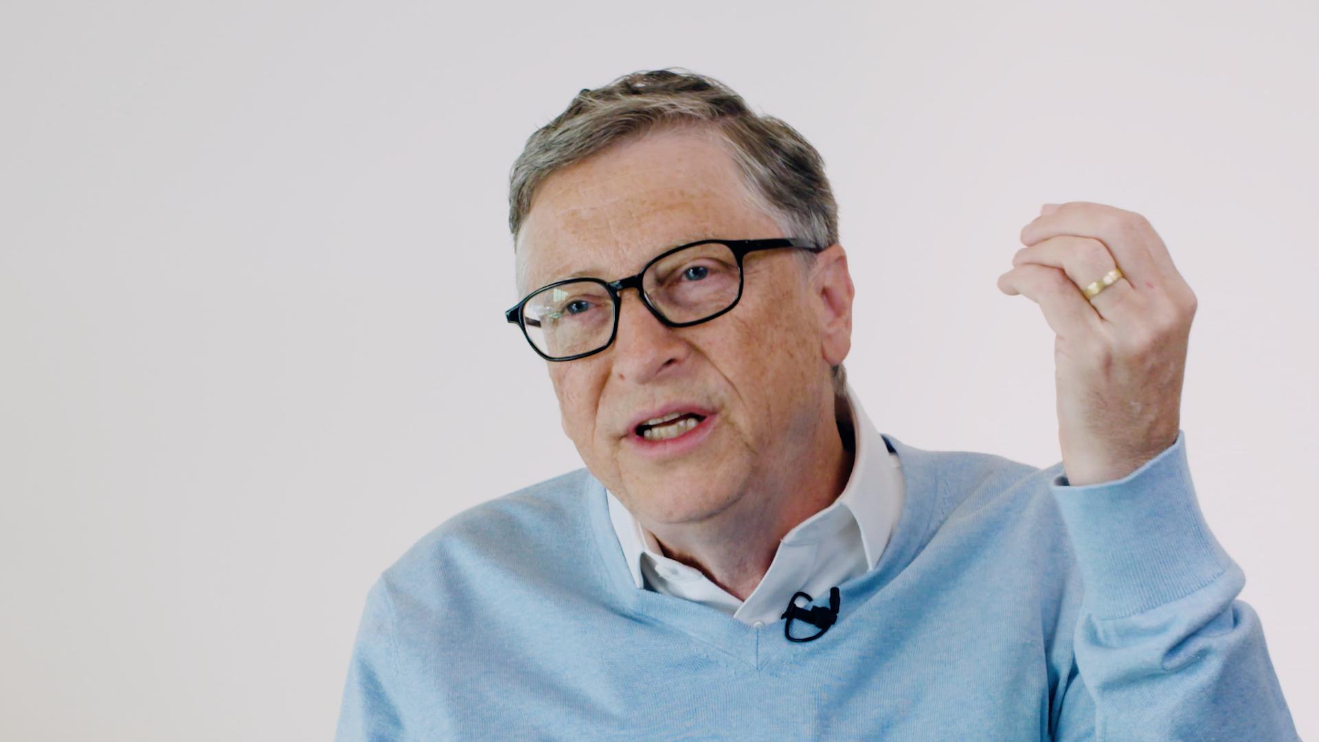 Bill Gates chats socialism
