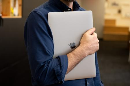 laptop holding positions—the yearbook