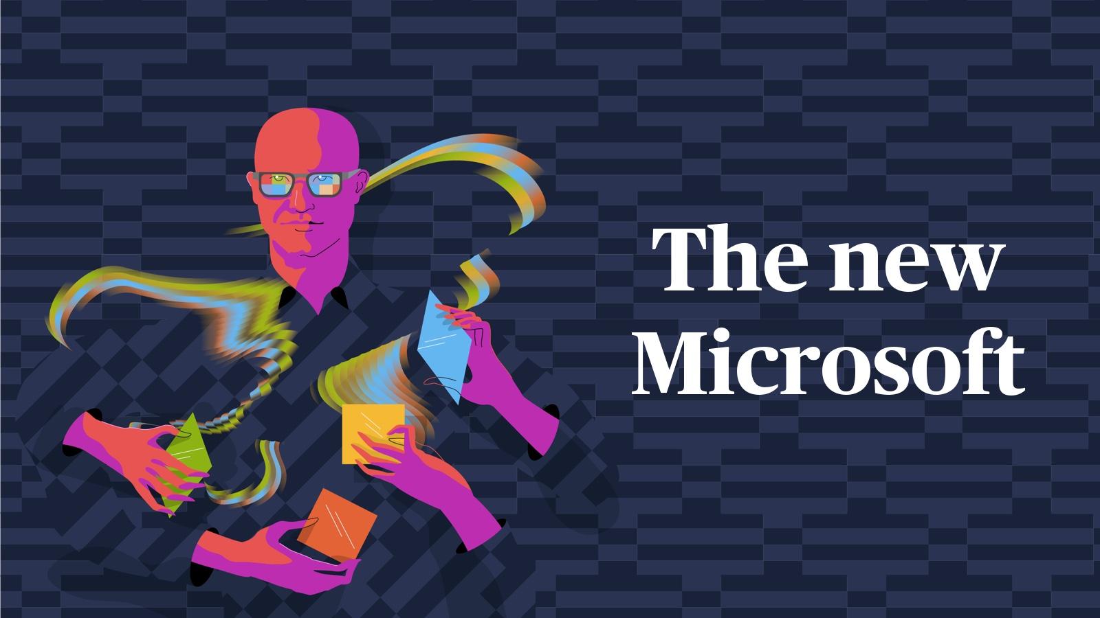 The new Microsoft