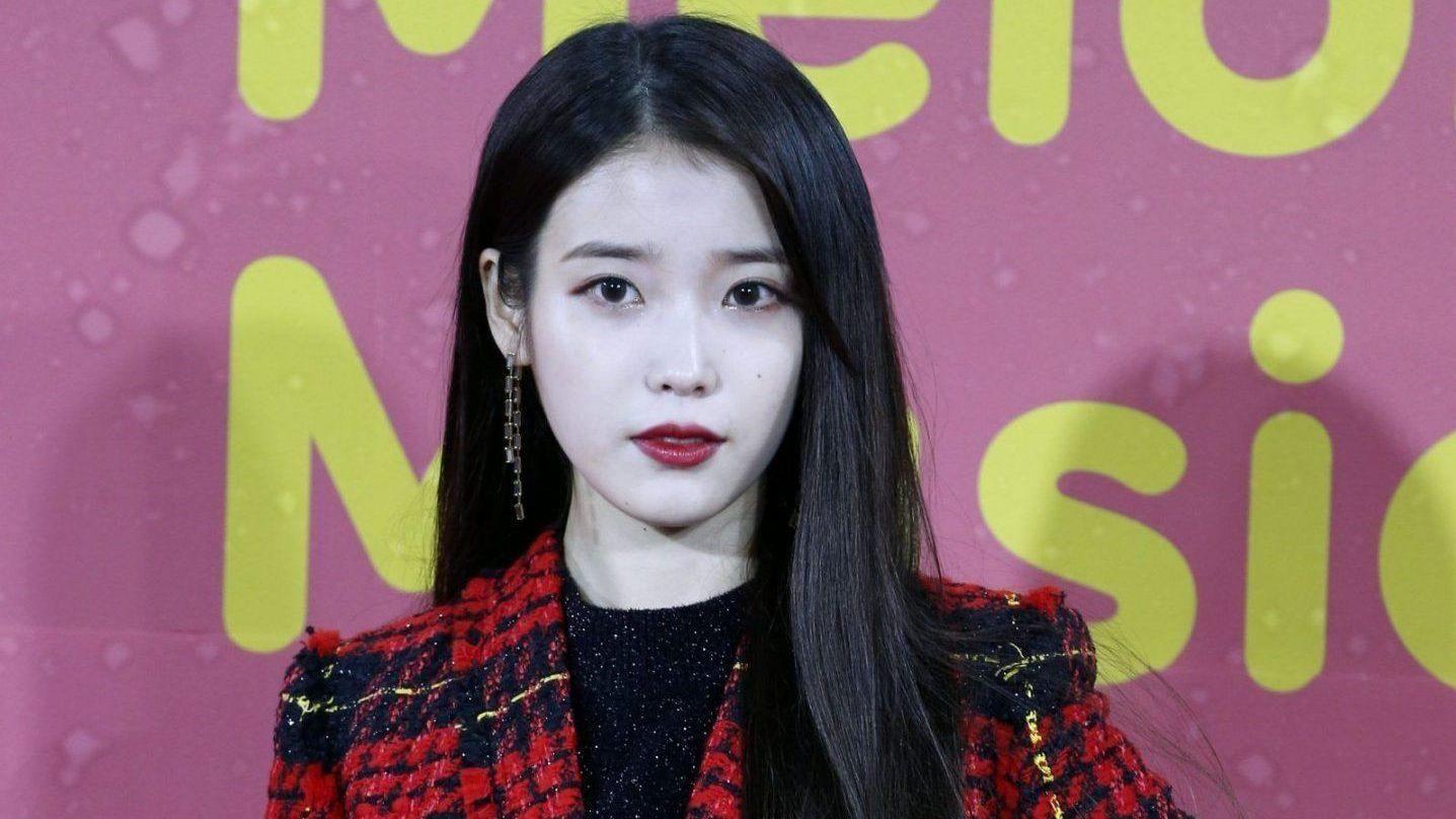 The K-pop star IU