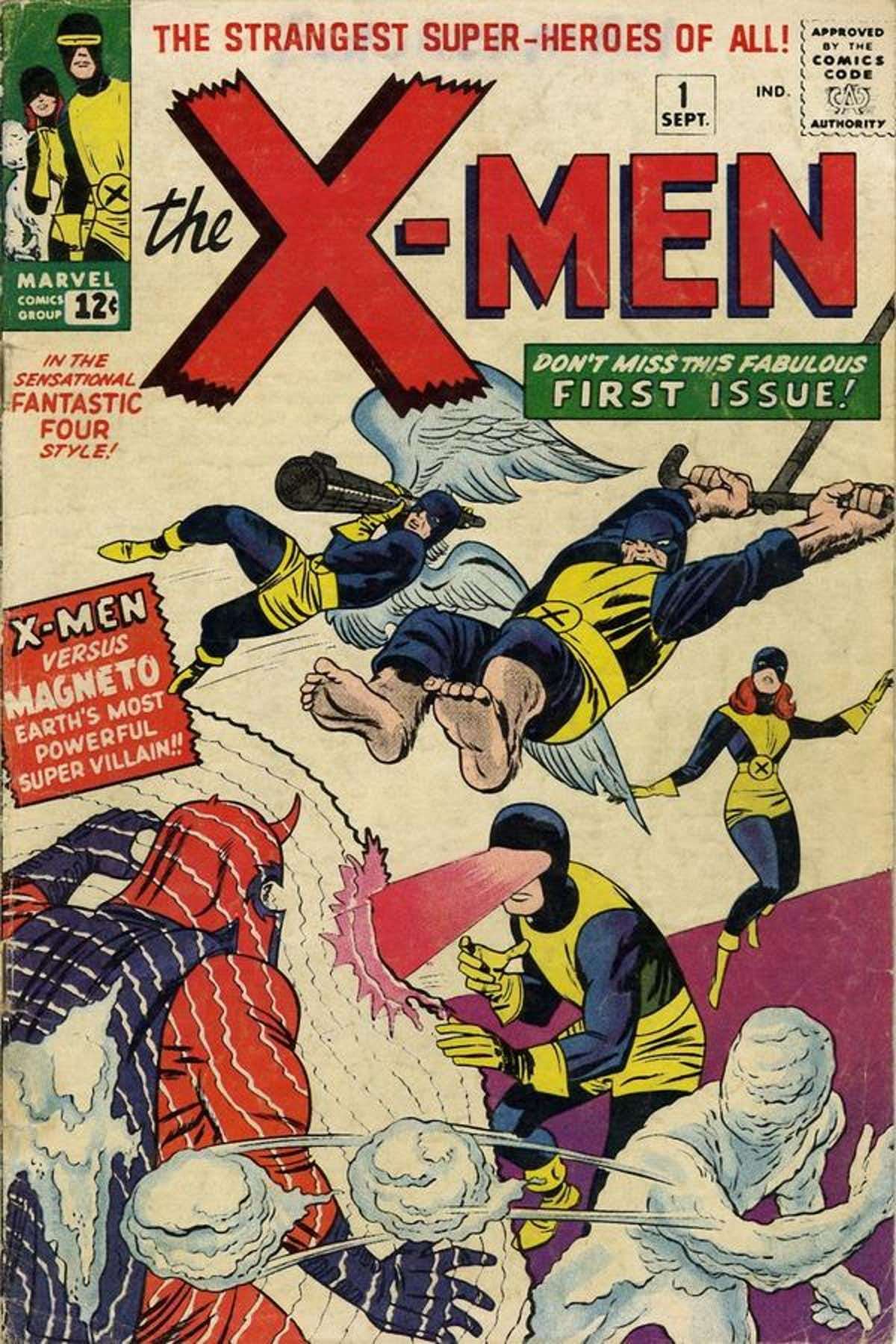 x-men first issue