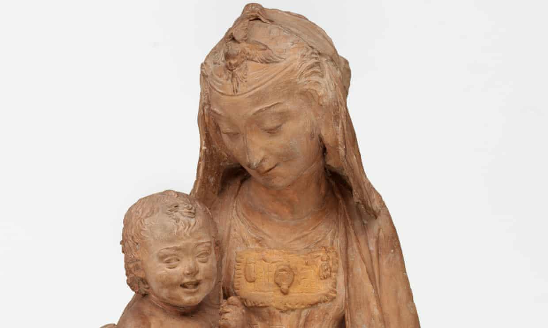 "Leonardo da Vinci's ""only surviving sculpture"" has been unveiled in Italy"