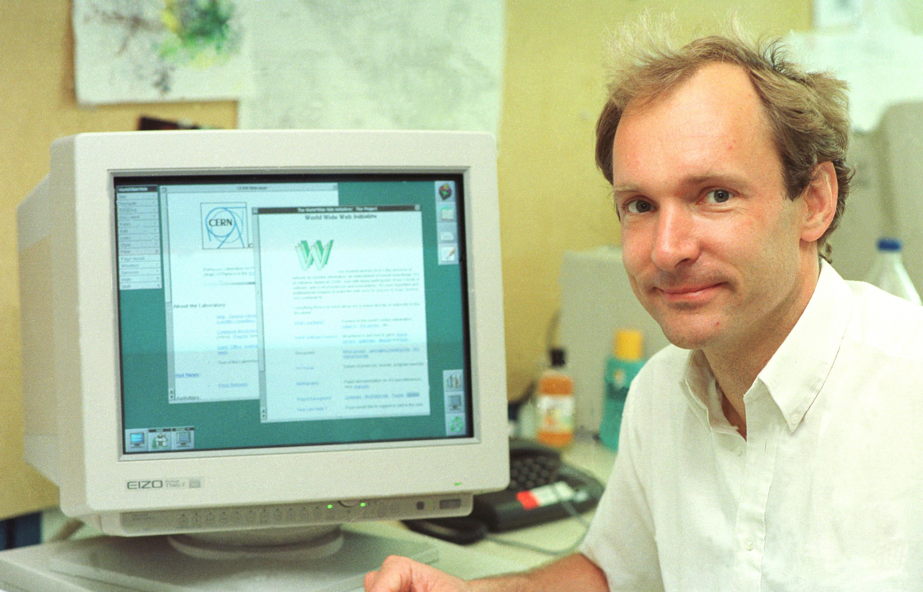 Resultado de imagen para Tim Berners-Lee