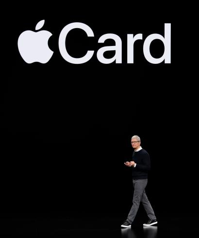 Apple CEO Tim Cook and Apple Card