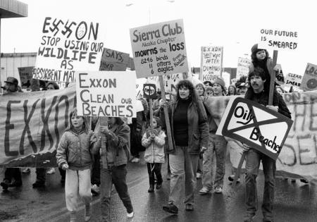 Exxon Valdez protests
