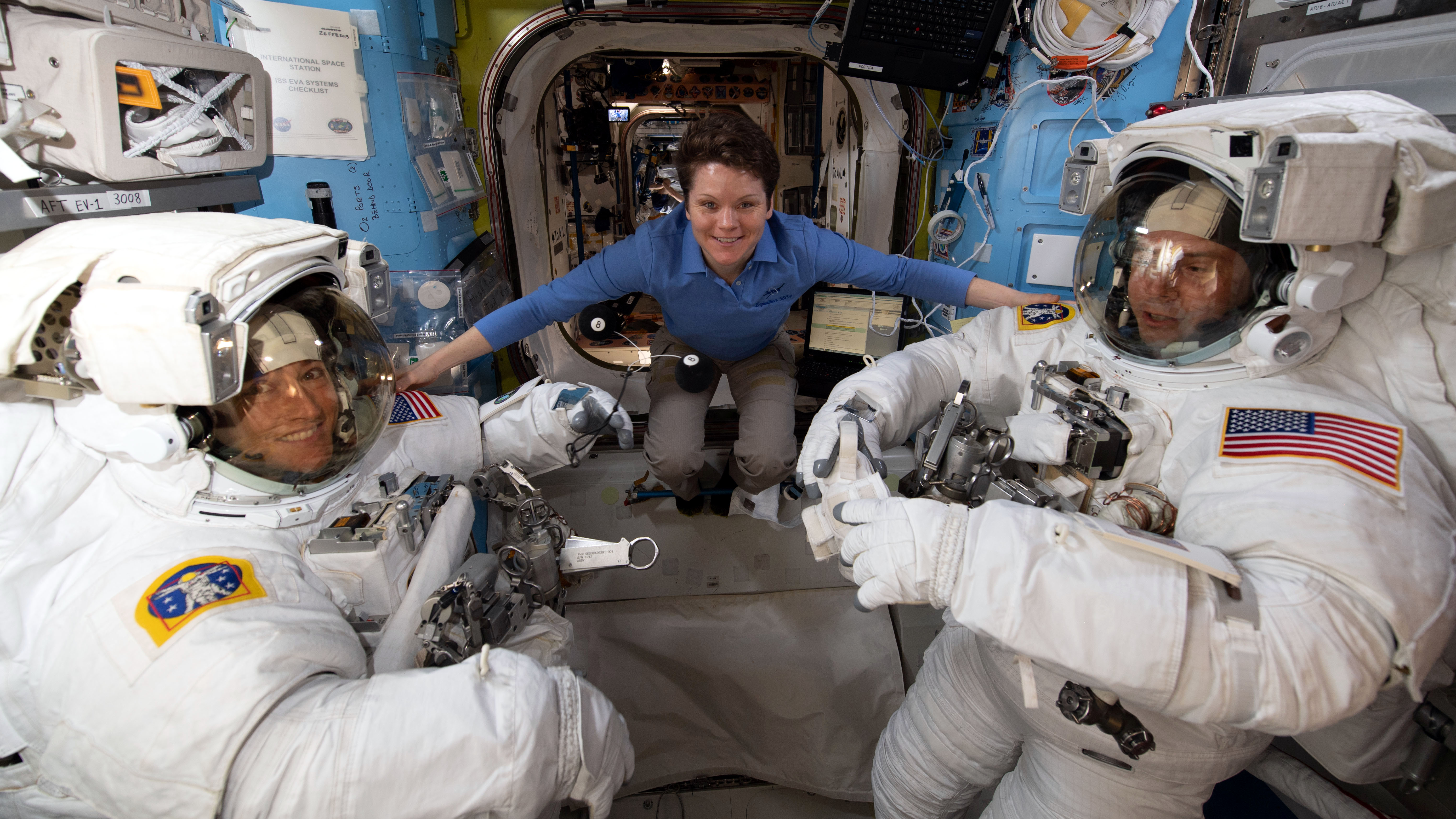 First all-women spacewalk canceled over lack of medium ...