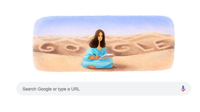 The San Mao google doodle.