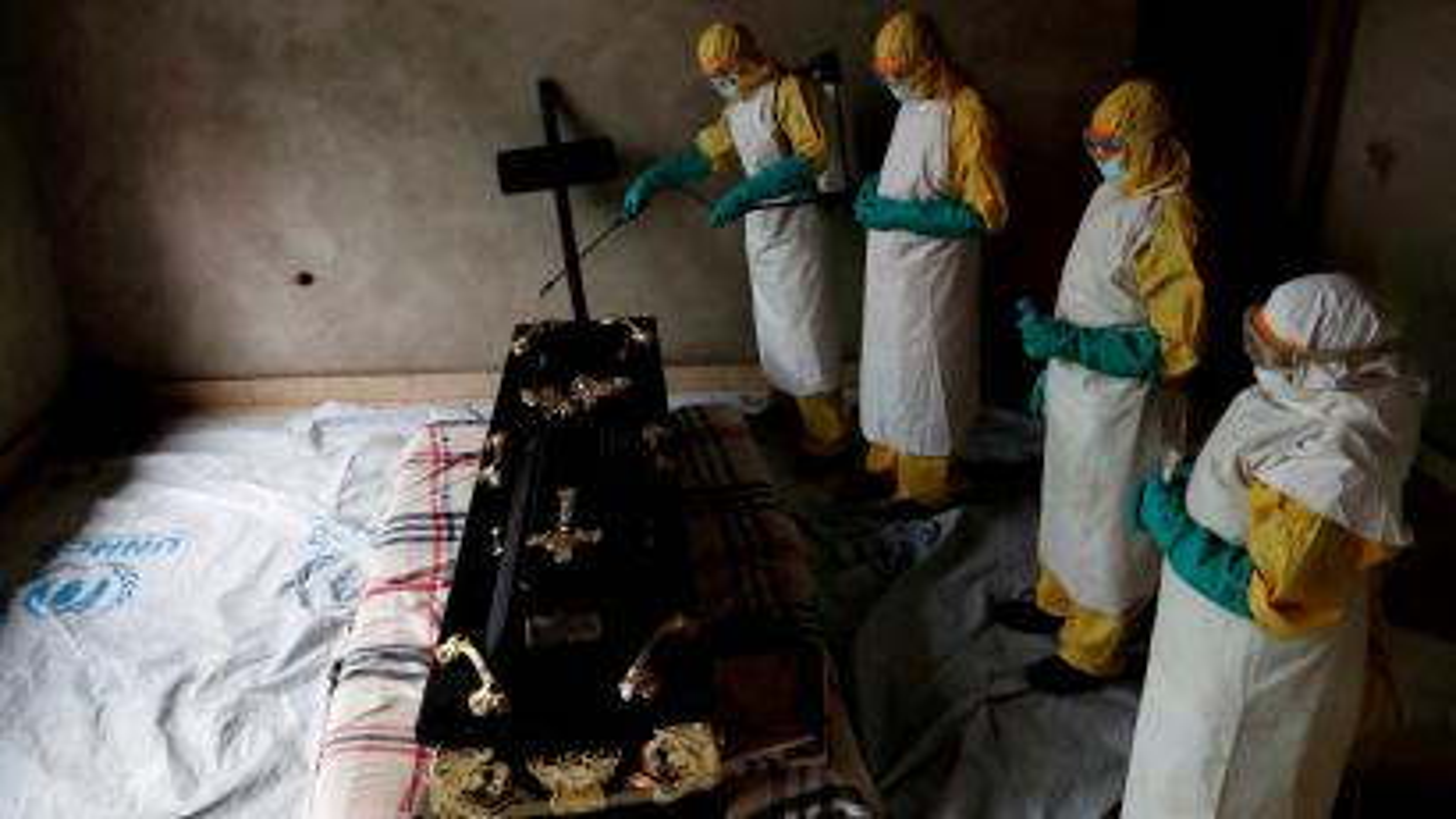 Ebola: Over 1000 cases as DR Congo struggles to contain spread