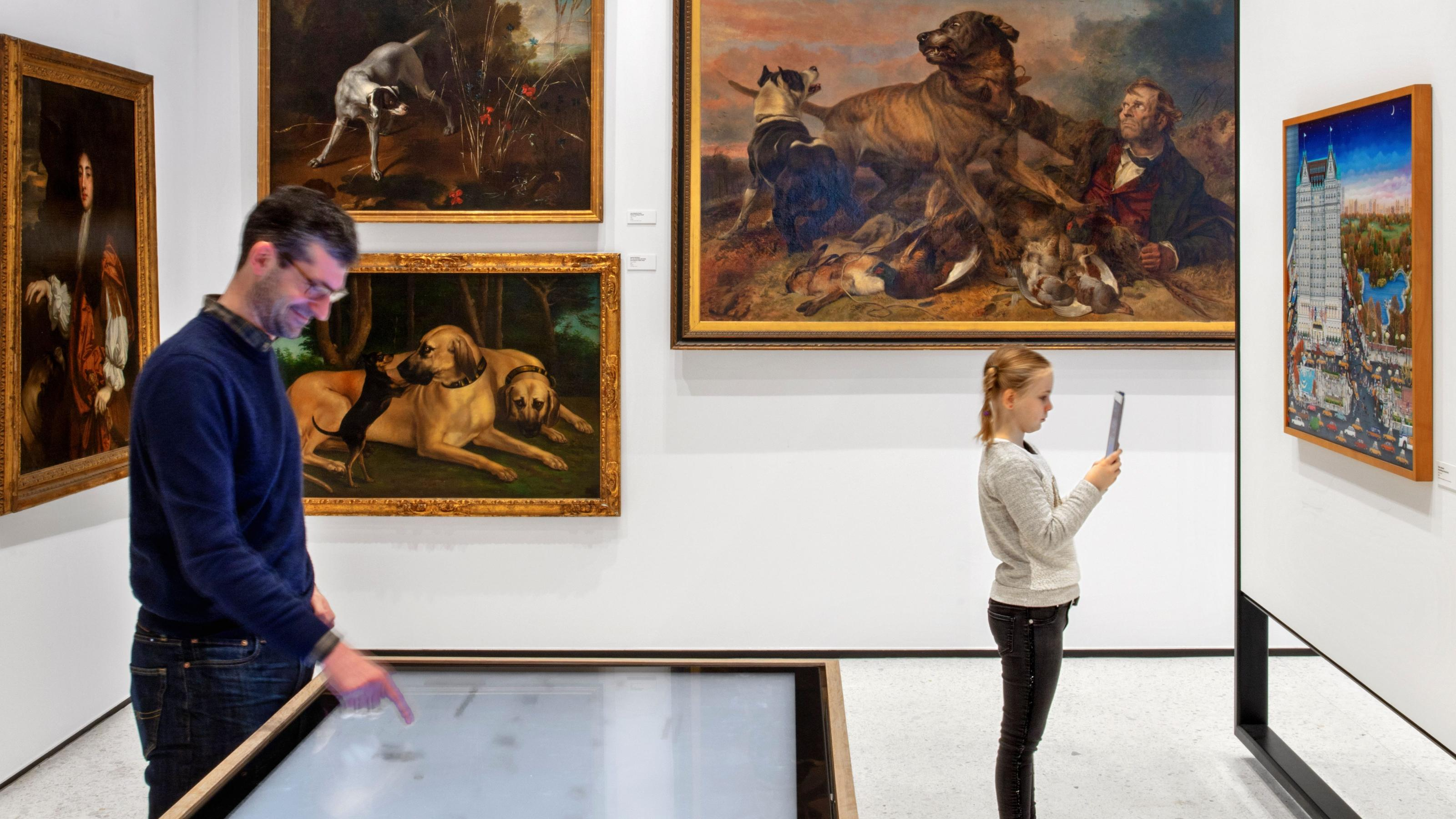 New York's revamped Museum of the Dog makes stodgy canine art fun