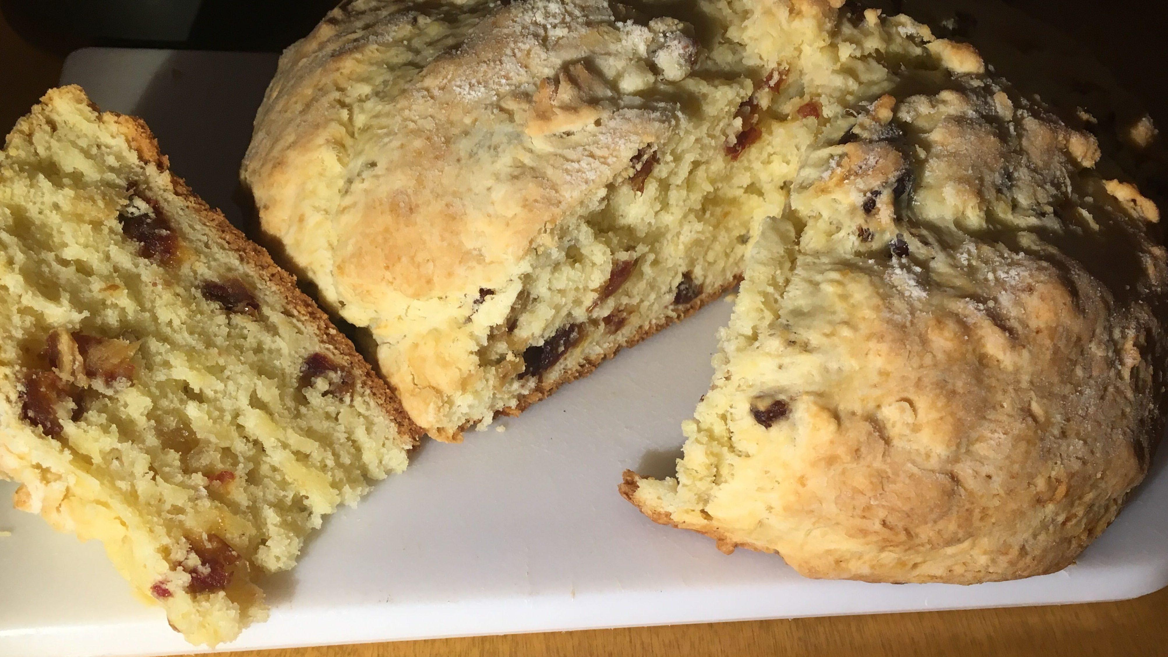 A recipe for Irish soda bread as delicious as a scone