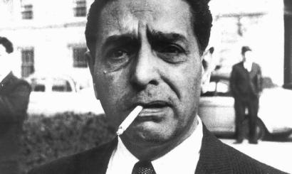 This undated photograph shows the late reputed crime boss Raymond Patriarca.