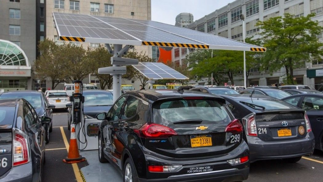 qz.com - Michael J. Coren - New York City says electric cars are now the cheapest option for its fleet