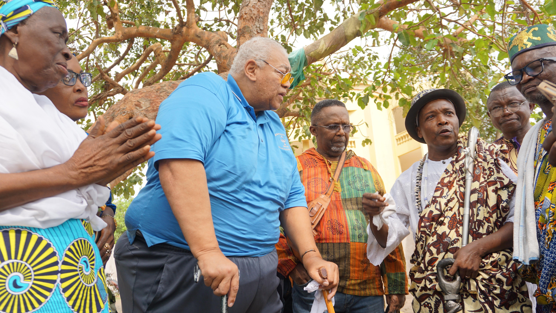 African American free masons group return to Benin Republic