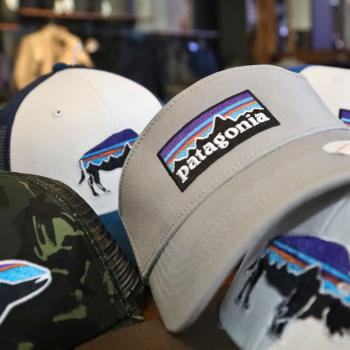 Patagonia logo on baseball cap 19325f9d42c3