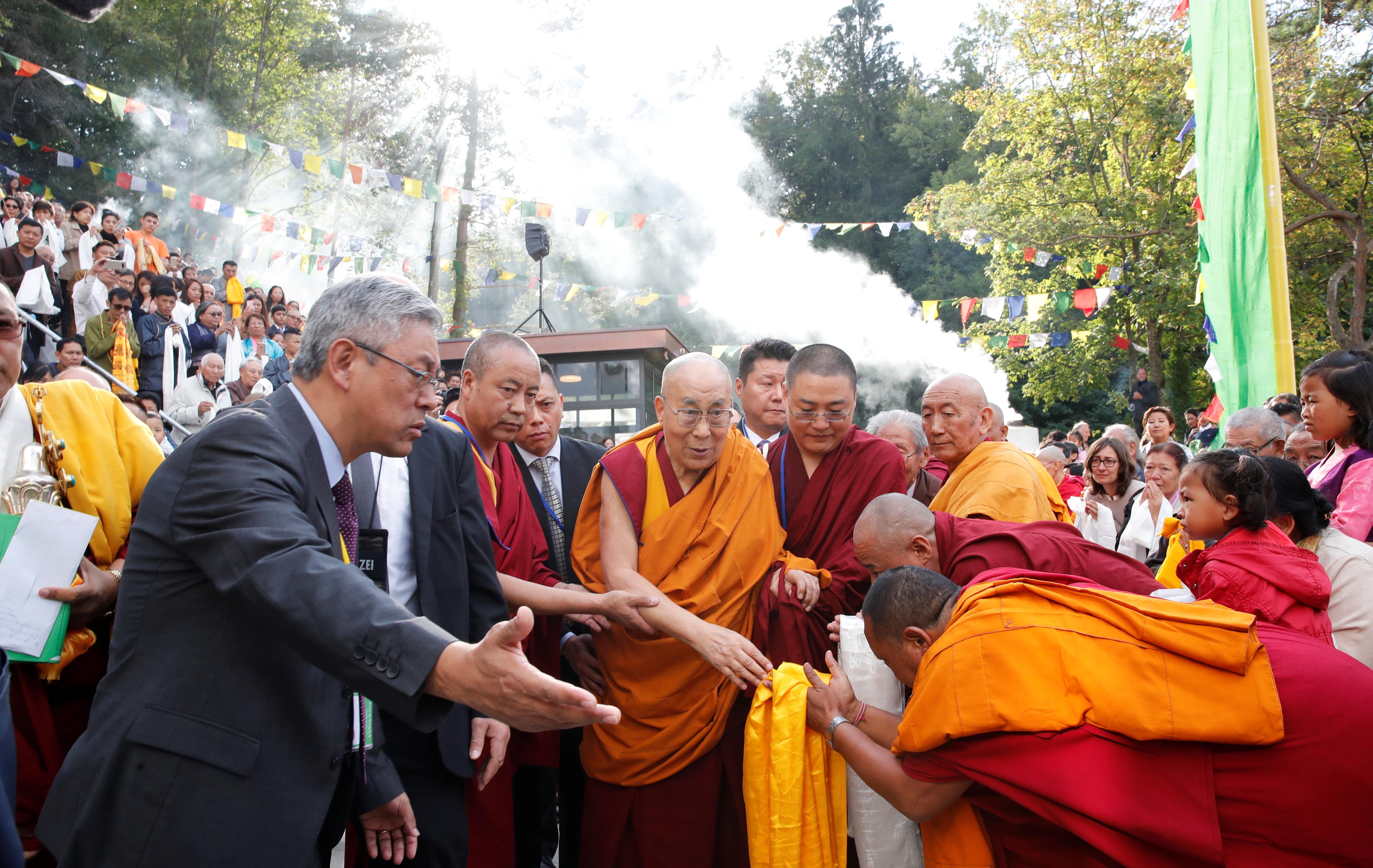 Dalai Lama in Switzerland