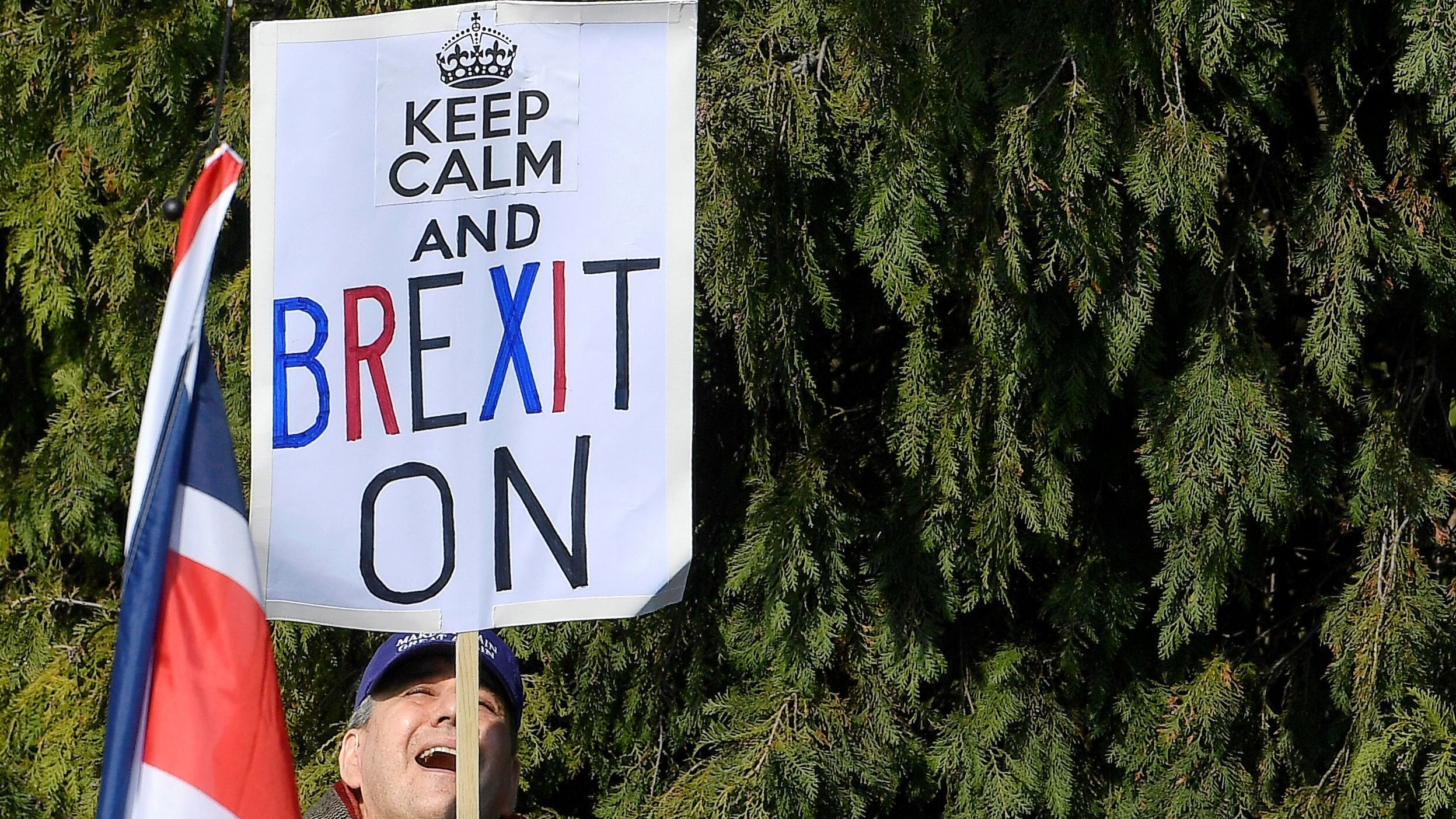 For Brexiteers, leave means leave.