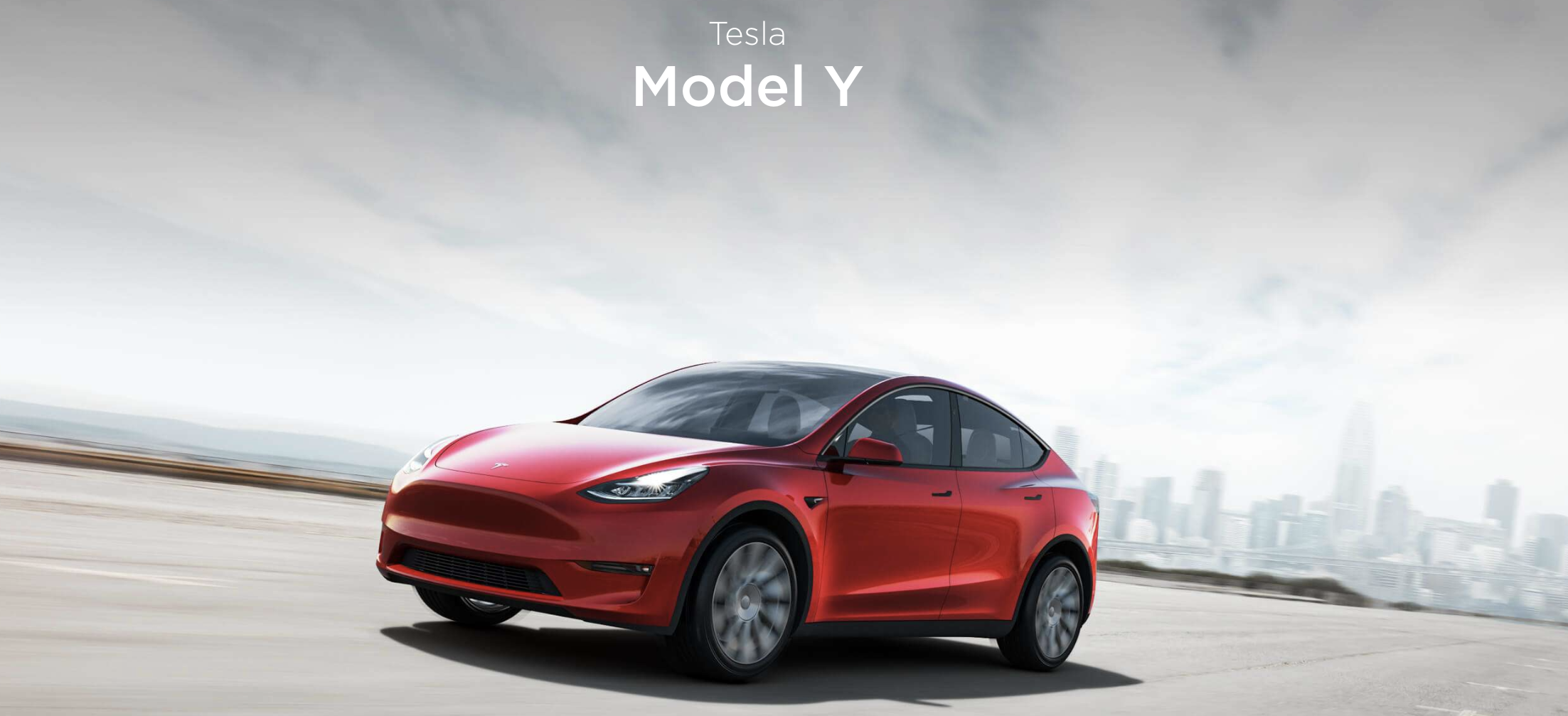 Tesla launches the Model Y