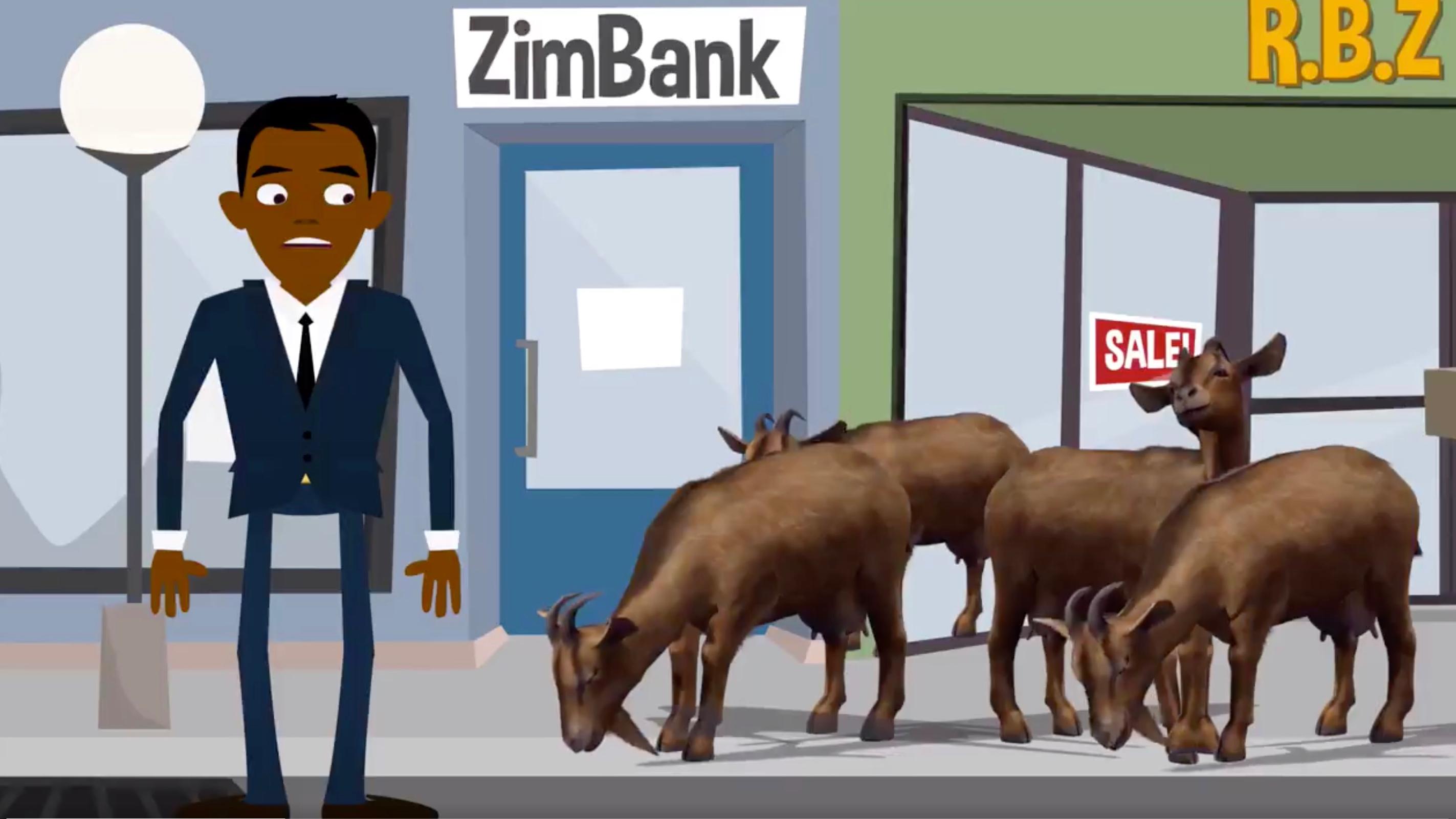 Zimbabwe economy: Animated explainer on currency shortage
