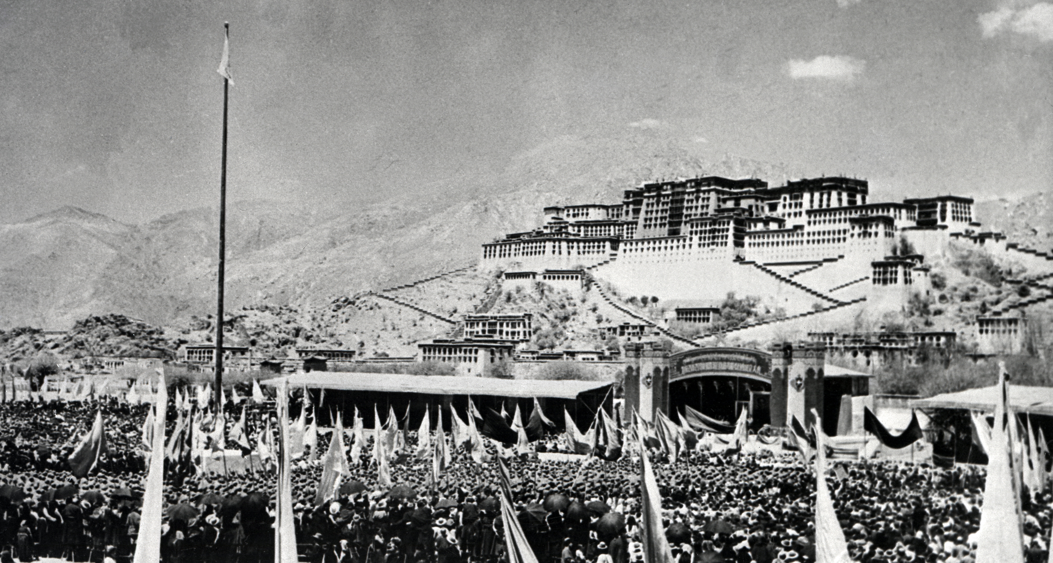 Protest in Lhasa