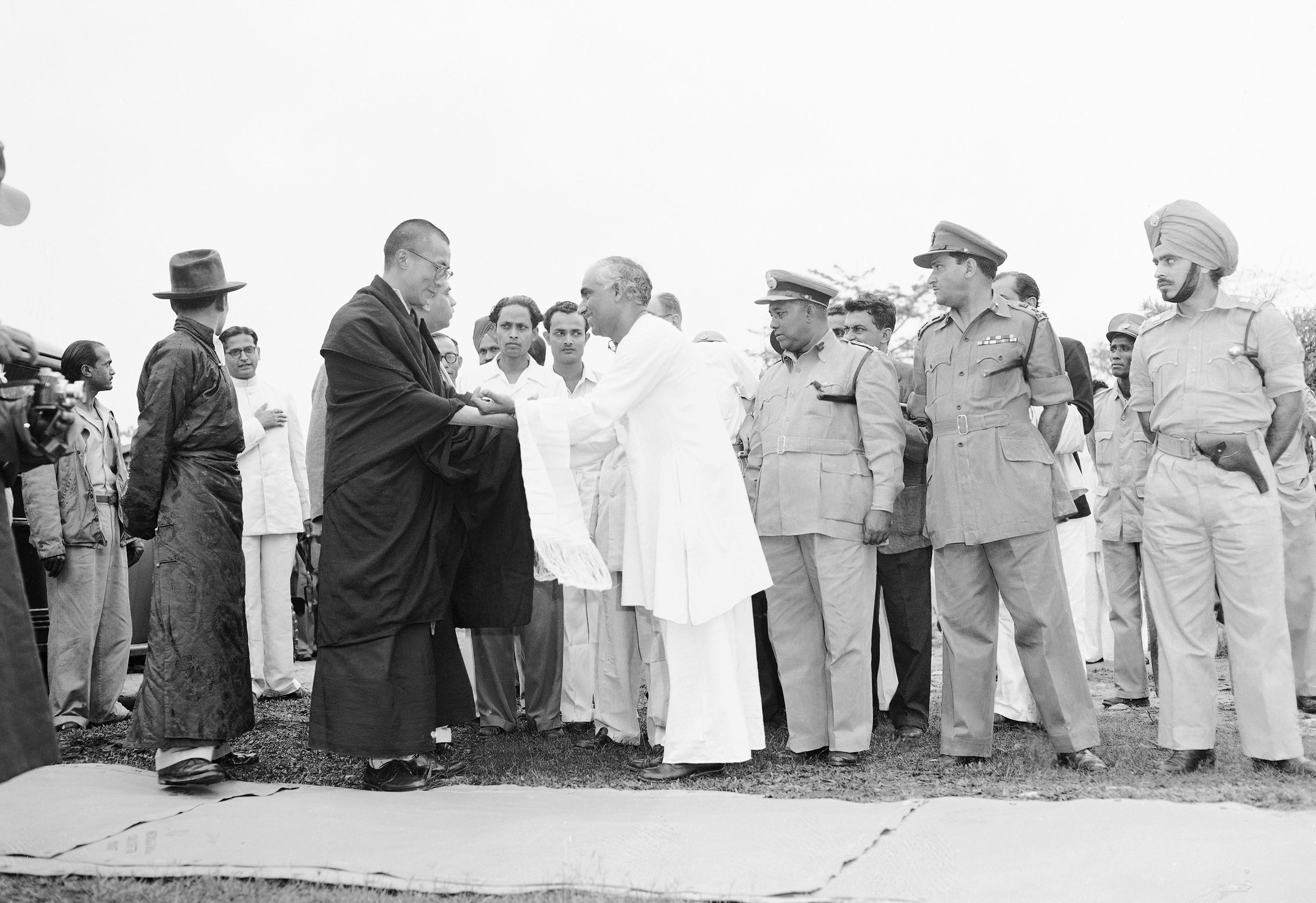 Dalai Lama Welcomed to Assam