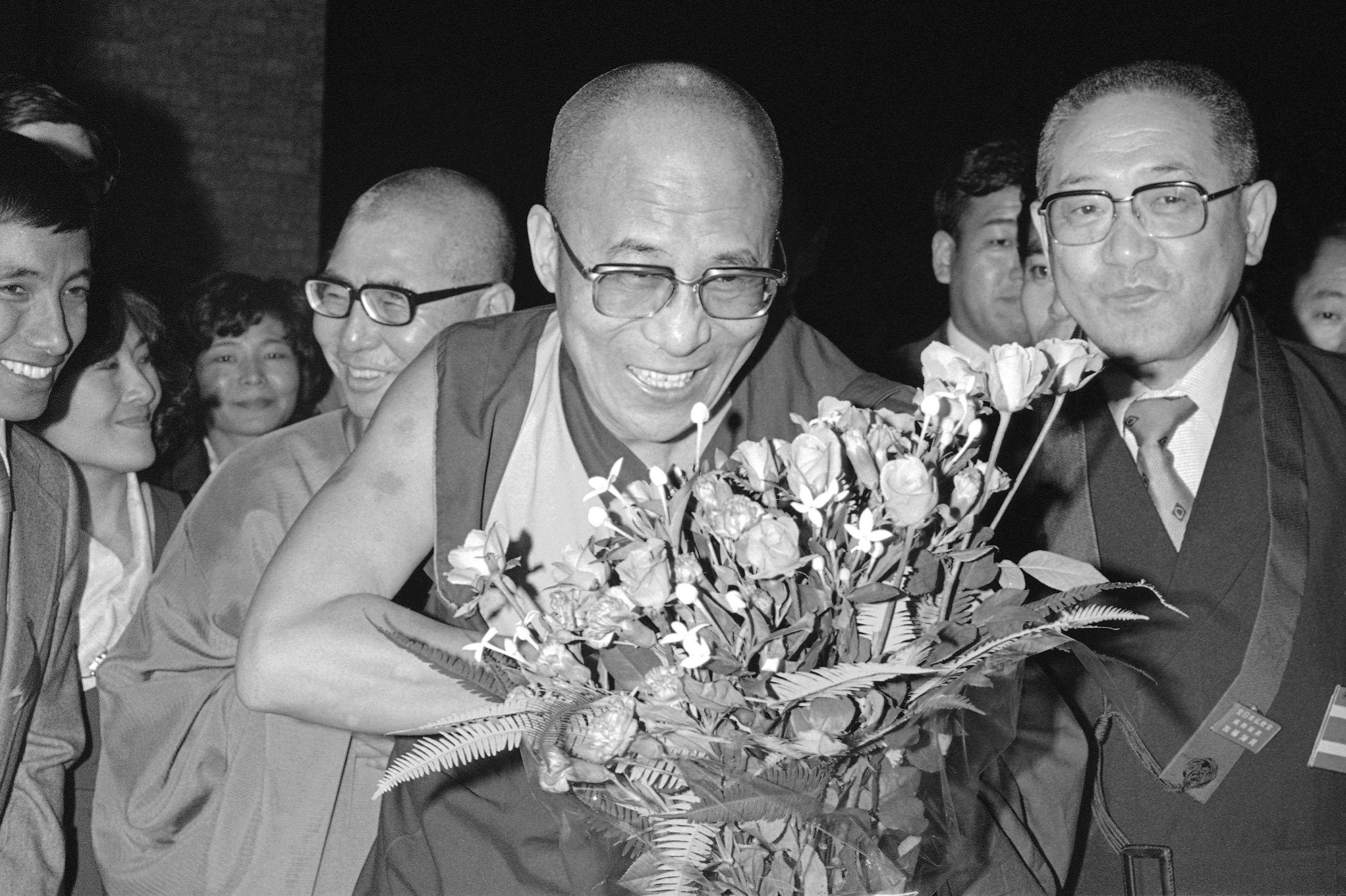 Dalai Lama in Japan