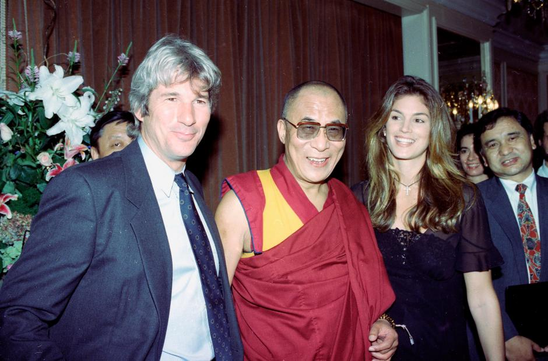 Richard Gere, Cindy, Dalai Lama