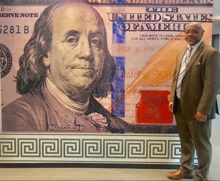 Banknote designer Brian Thompson on how money is designed
