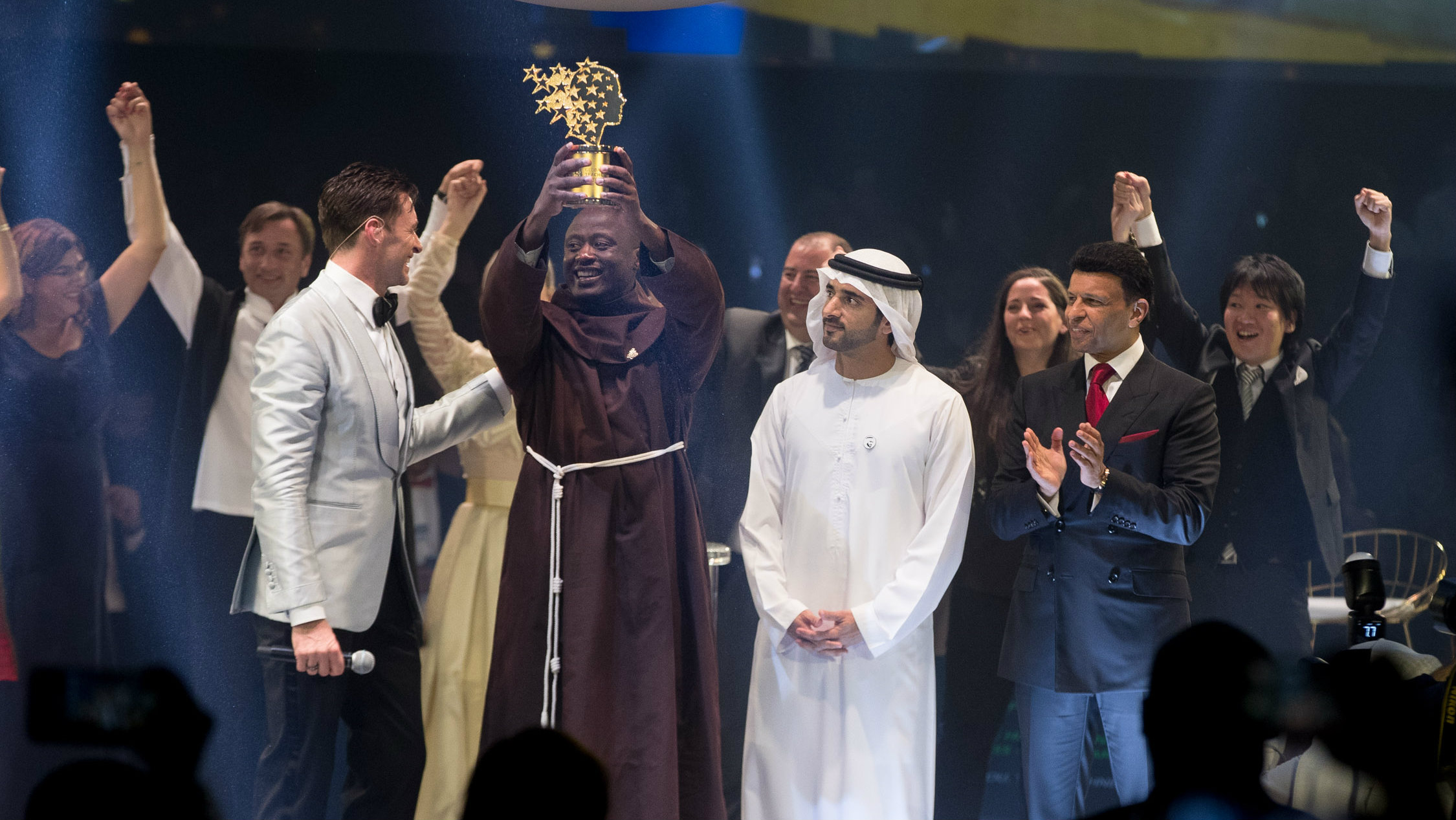 Peter Tabichi wins the $1 million Varkey Foundation Global Teacher Prize.