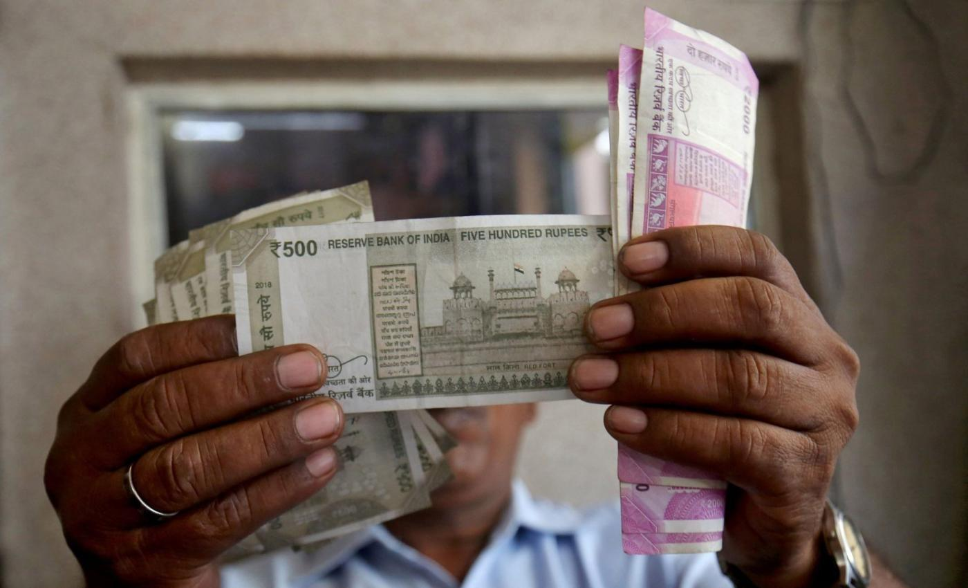 Indian Ru Rallies Against Dollar On