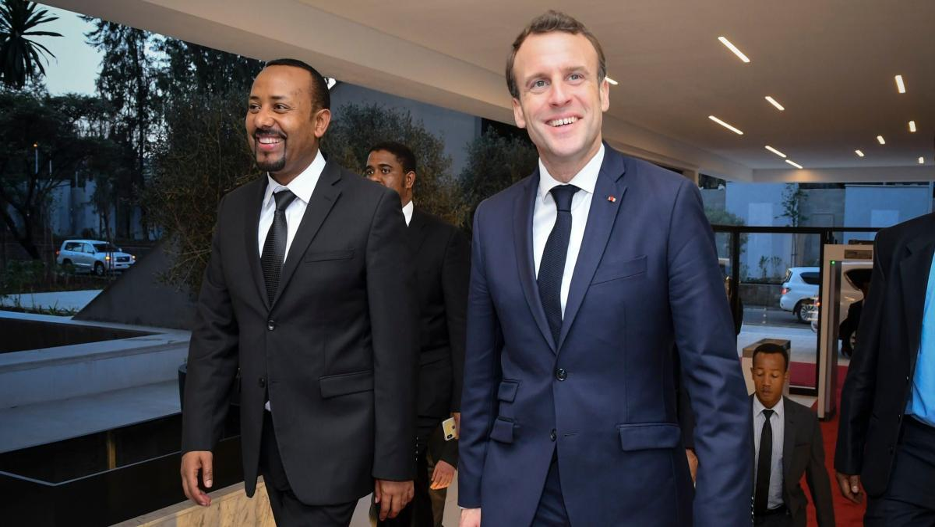 French President Macron Visits Djibouti Ethiopia Kenya Quartz Africa