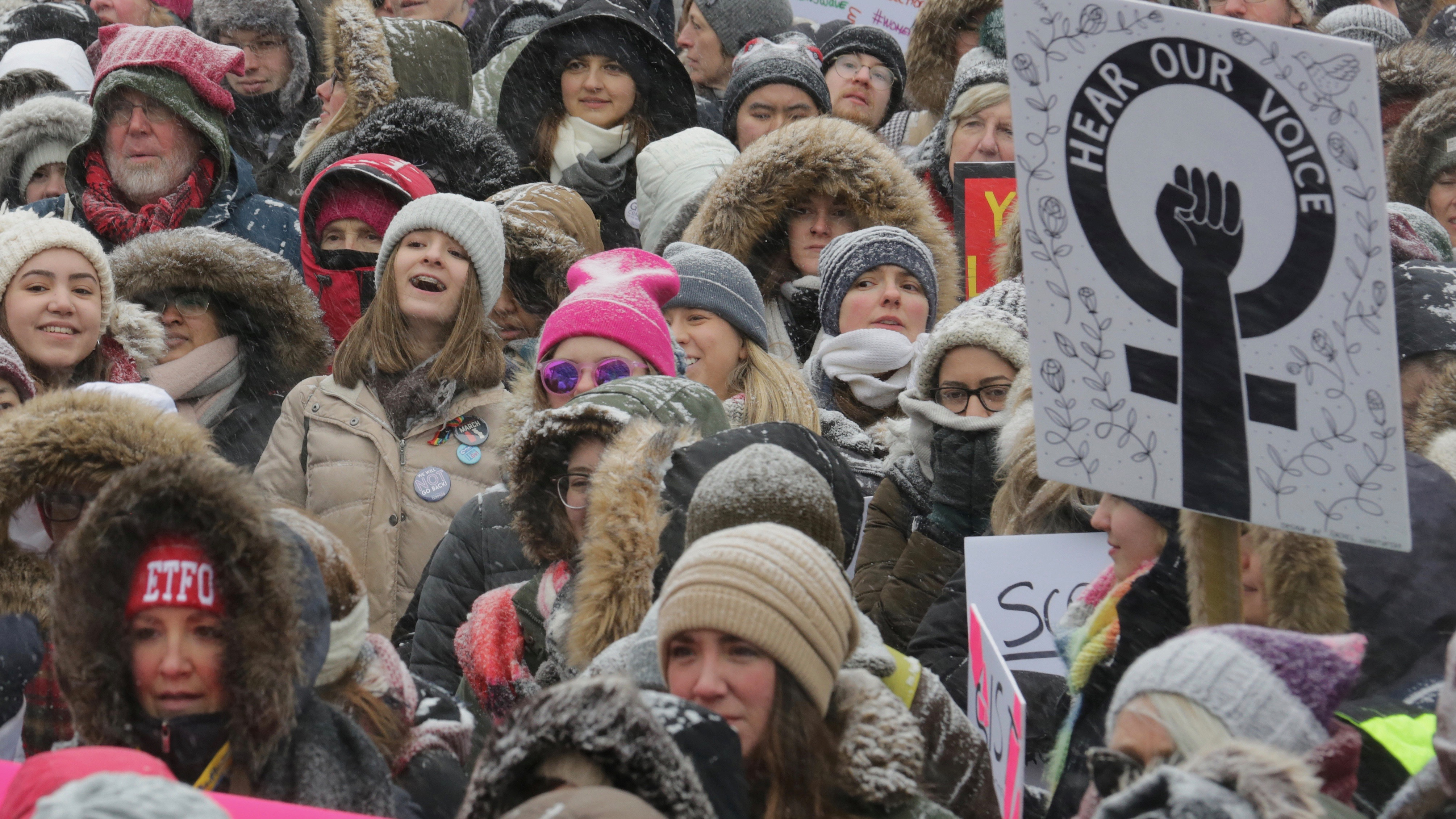 Women's March, Canada.