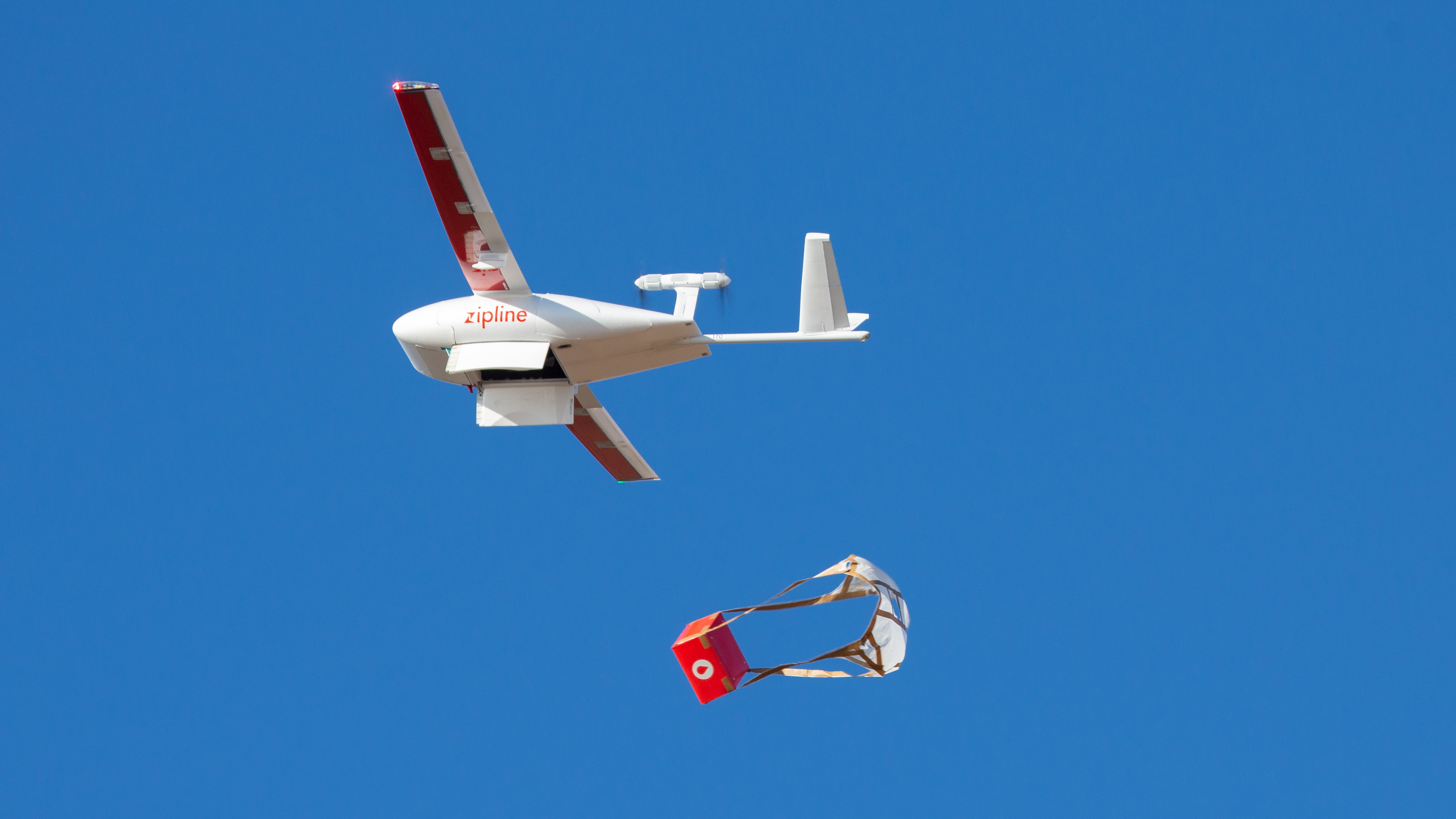 Zipline's drone delivery launches in Ghana with vaccines