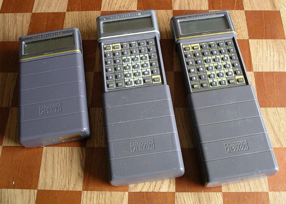 Psion's 1986 Organiser II.