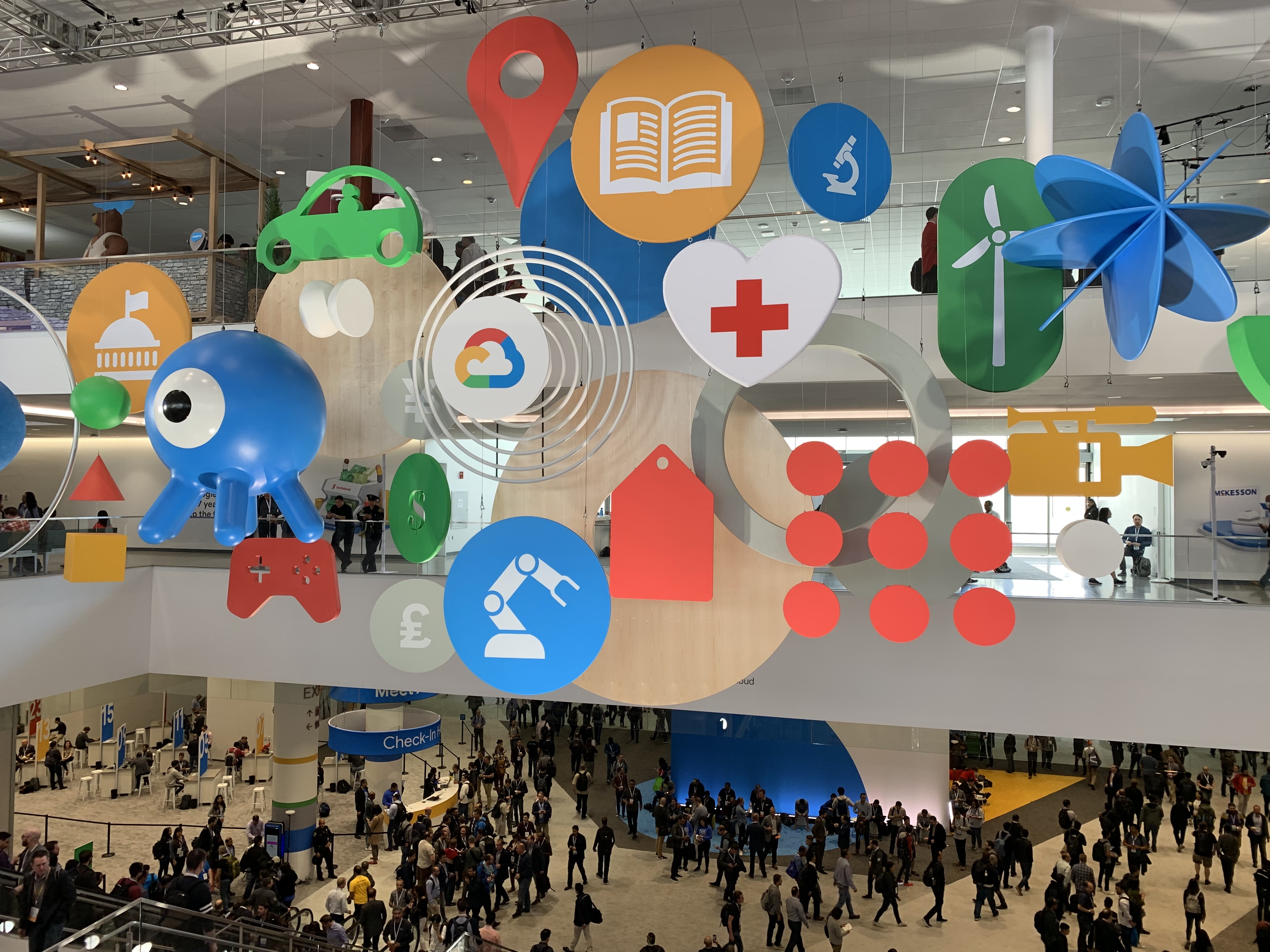 Inside Google Cloud Next, the conference for the search giant's next big business