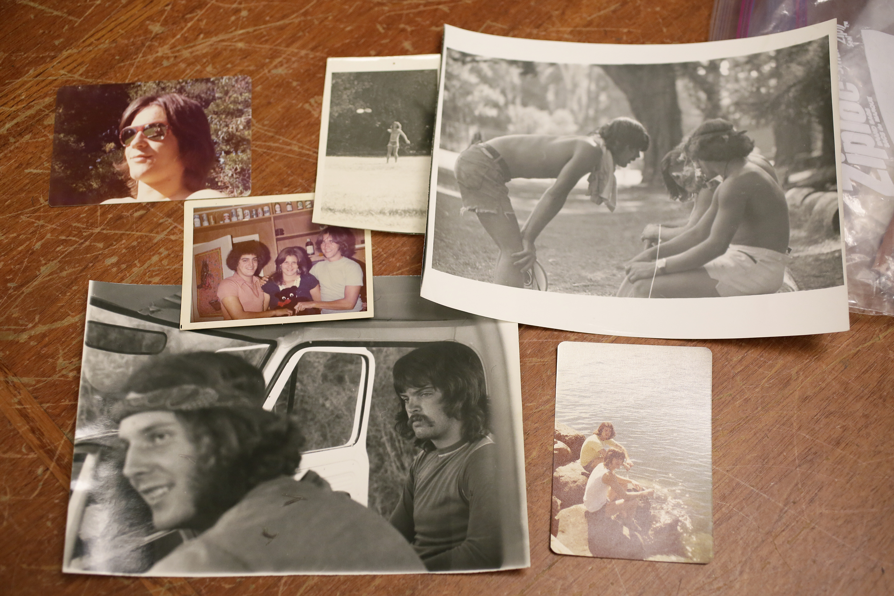 This Friday, April 13, 2018, photo shows a number of photos from the early 1970s showing the Waldos that are stored in their bank vault in San Francisco. Friday is April 20, or 4/20. That's the numerical code for marijuana's high holiday, a celebration and homage to pot's enduring and universal slang for smoking. And five Northern California high school stoner buddies widely credited with creating the shorthand slang for getting high nearly 50 years ago now serve as the day's unofficial grand masters. ()