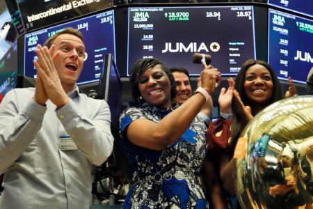 Jumia IPO: shares close up 75% on first NYSE trading day — Quartz Africa