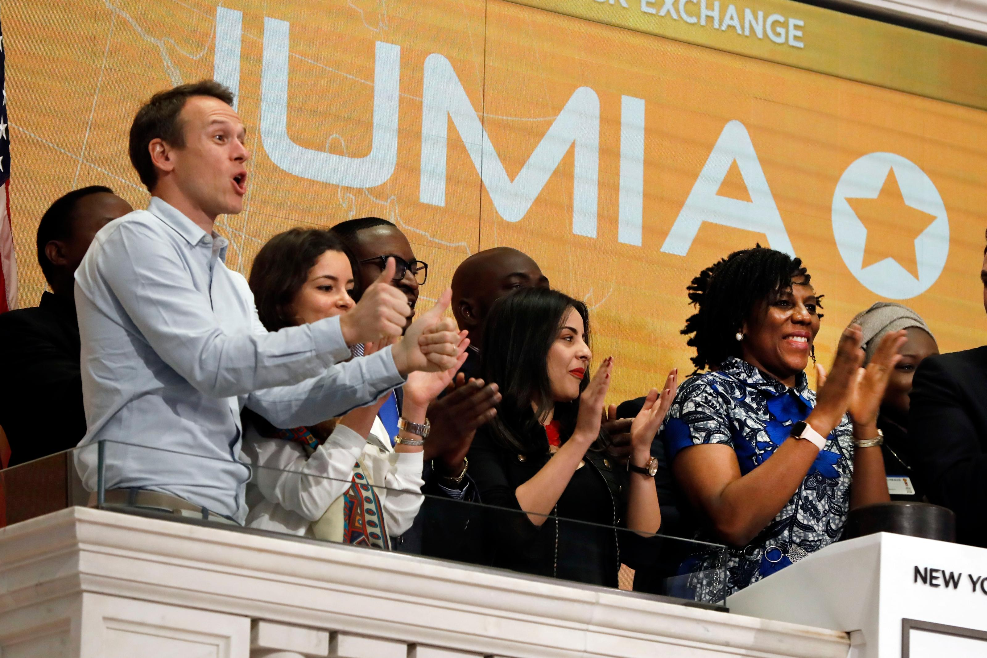 Jumia IPO: shares close up 75% on first NYSE trading day