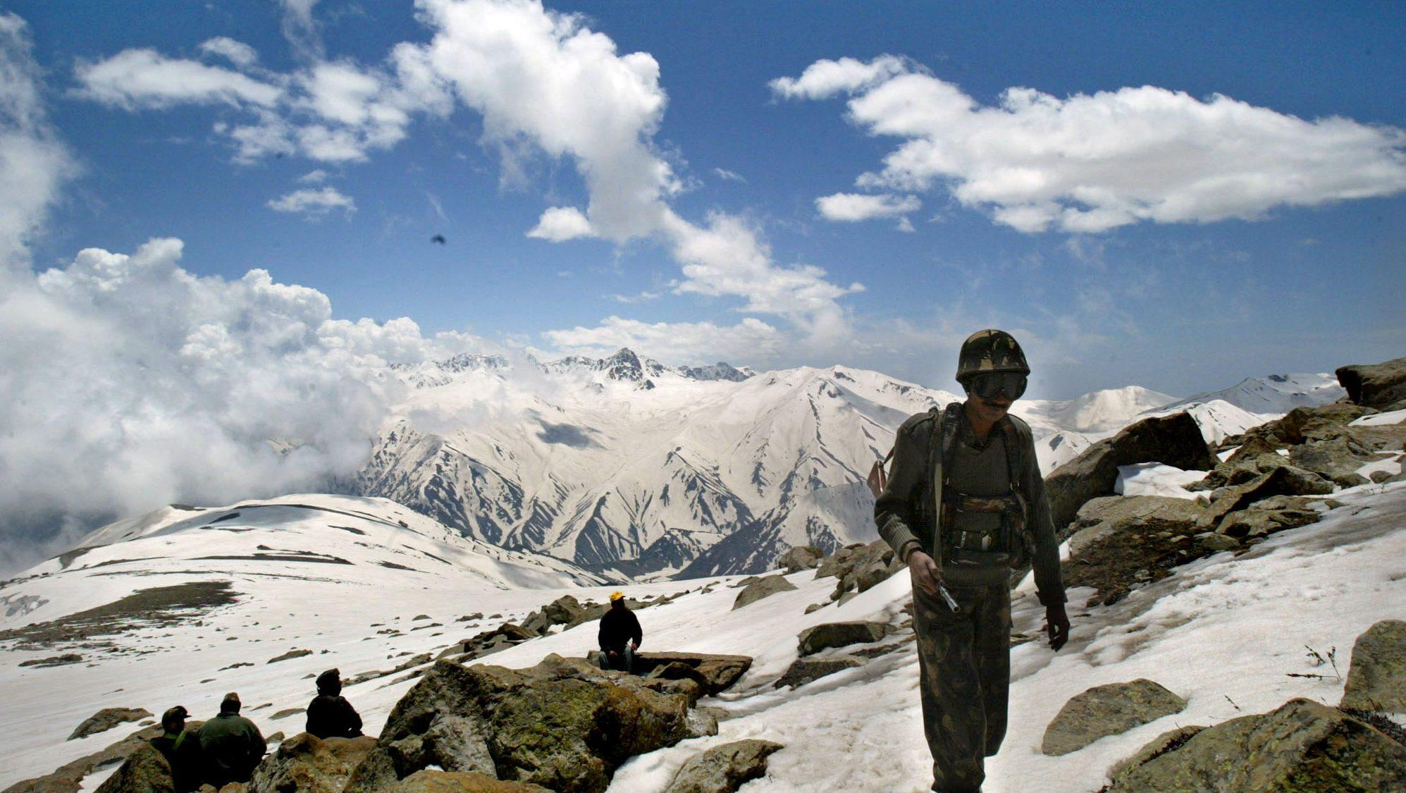 Himmanav, Yeti footprint sighted, Indian Army tweets photos