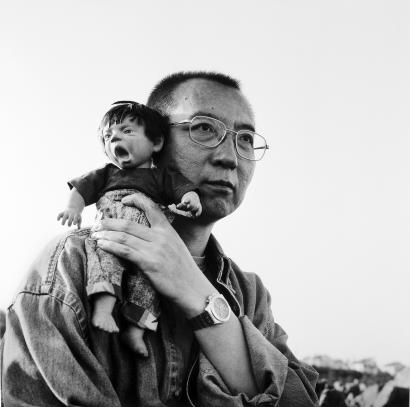 Untitled (1998) by Liu Xia, poet, photographer and widow of the late Nobel Peace Prize laureate Liu Xiaobo (pictured). Photograph now on show at MOCA Taipei. Photo courtesy of Guy Sorman.