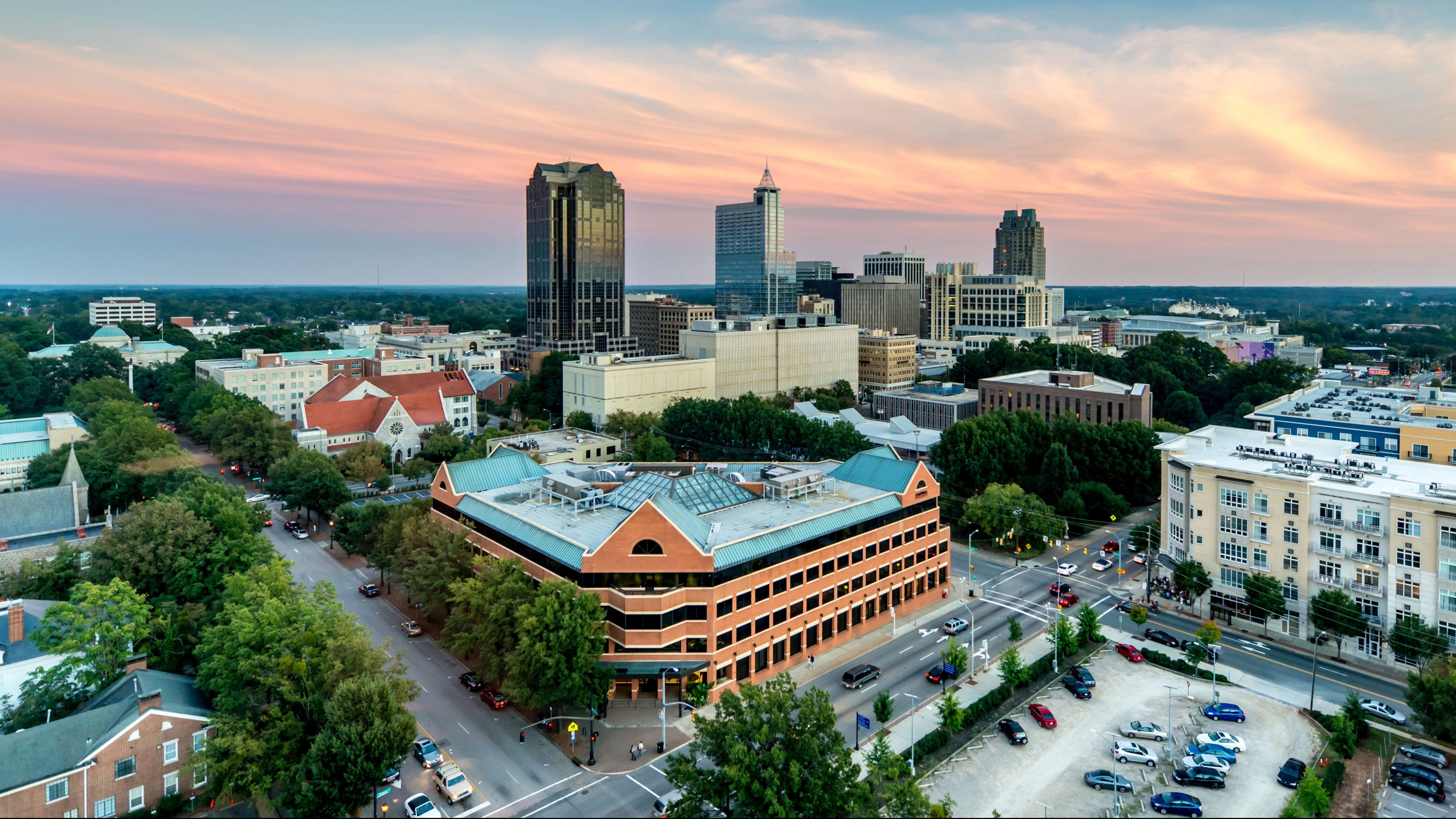 Raleigh has a cost of living below the national average