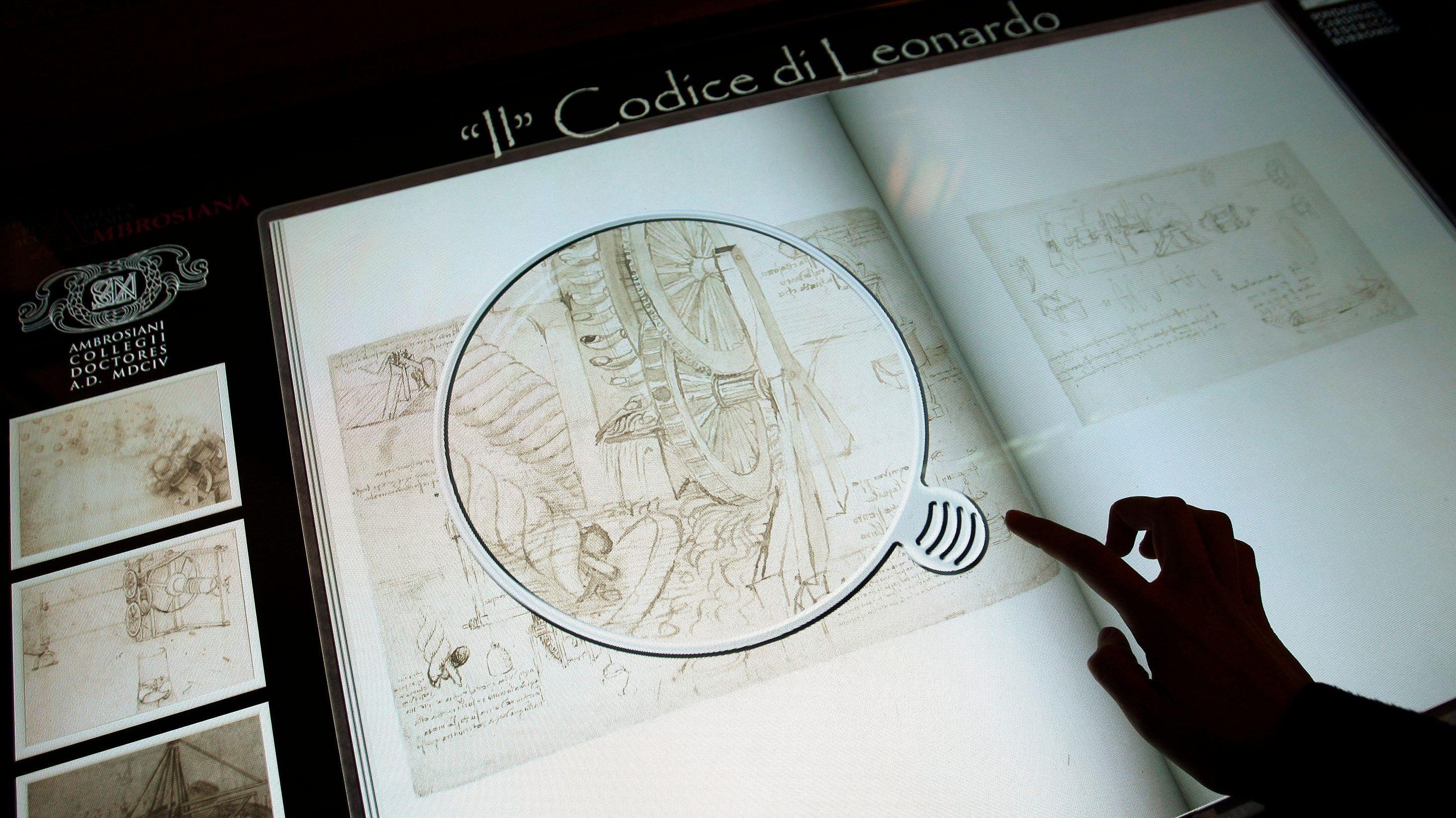 Leonardo da Vinci showed how art can advance scientific progress