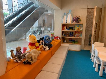 A daycare center at NIO Club in Shanghai Tower. April 19, 2019.