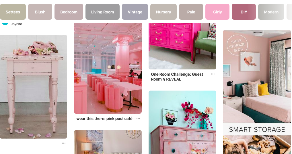Driving sells from pinterest