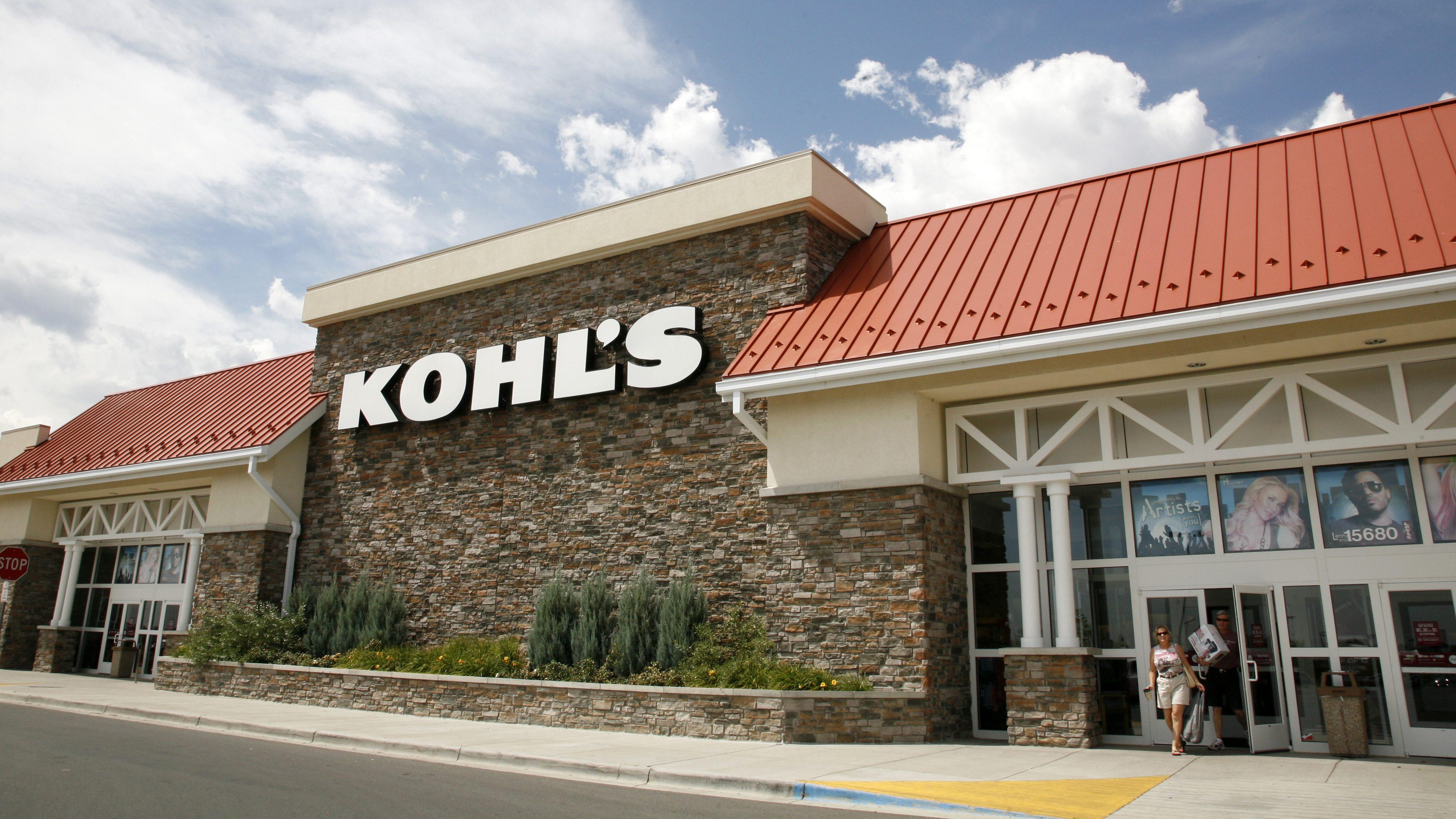 Kohl's stores will accept Amazon returns.