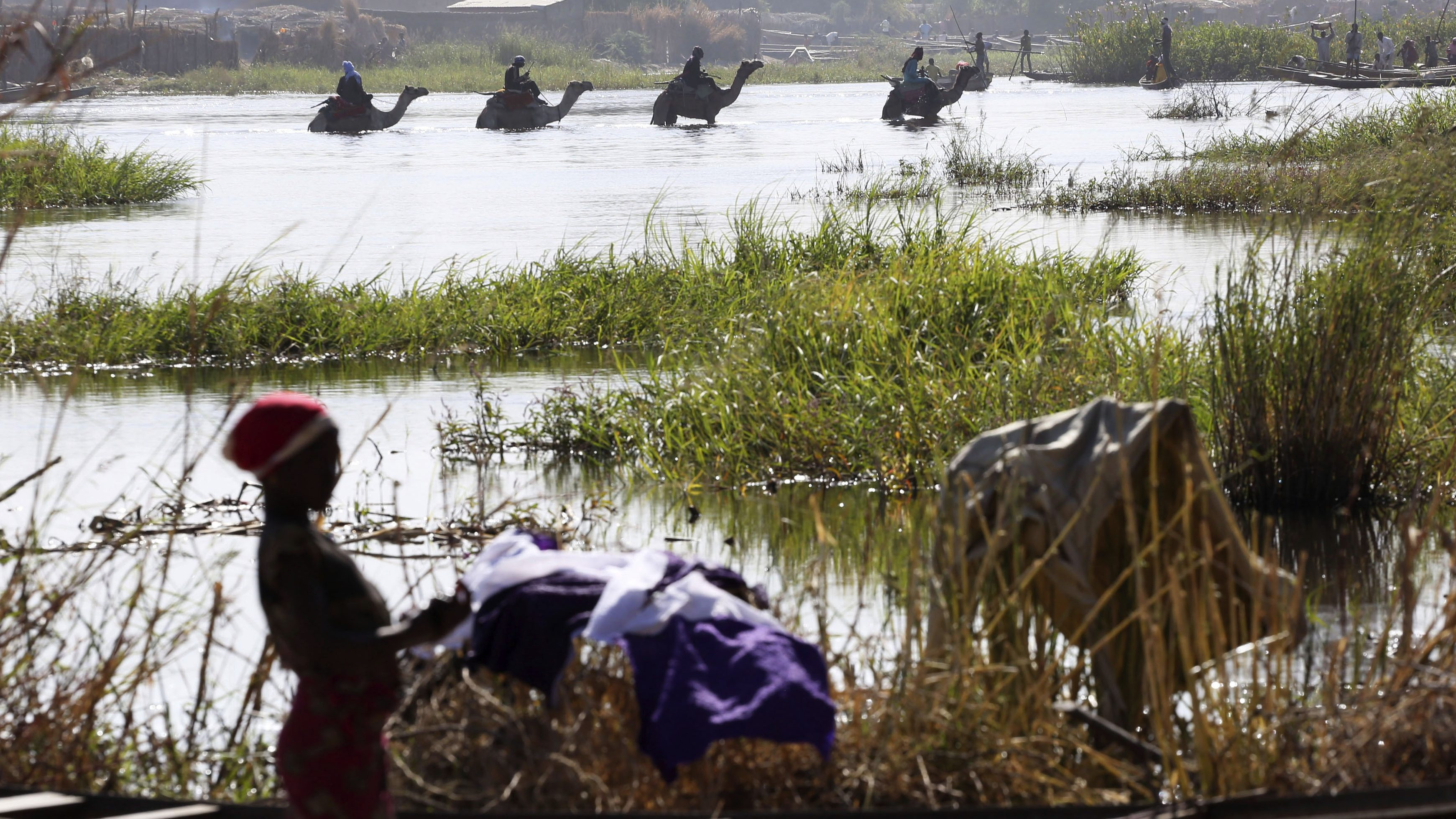 Scientists aren't certain climate change is shrinking Lake Chad