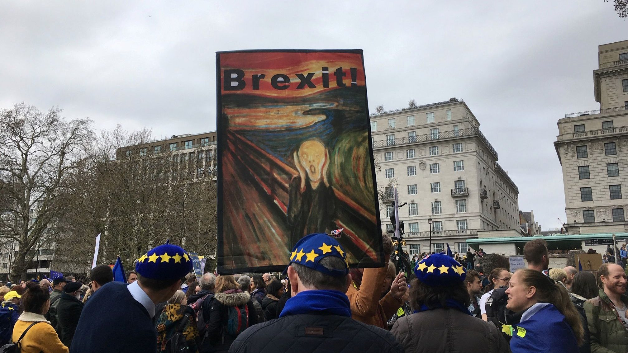 Anti Brexit march in London