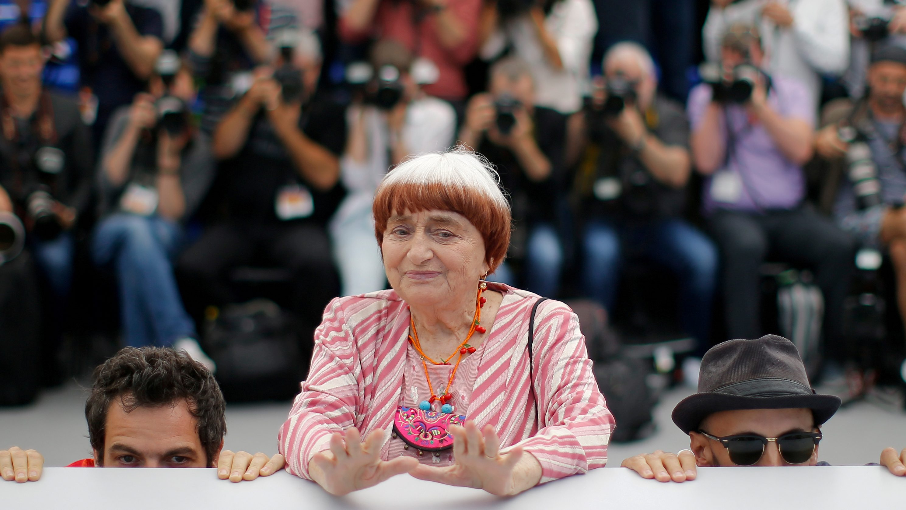 FILE PHOTO: 70th Cannes Film Festival - Photocall for the film Visages, villages (Faces Places) out of competition