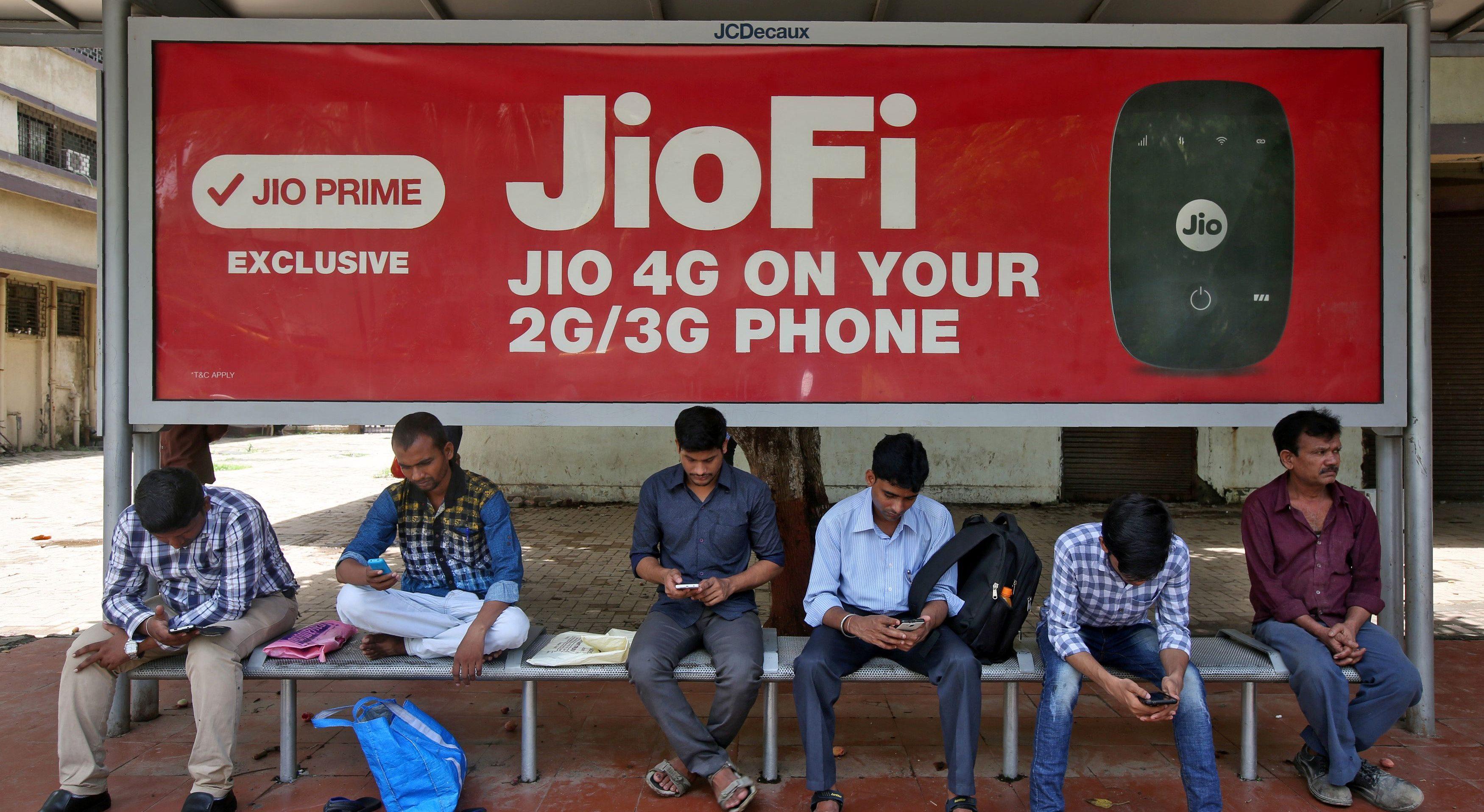 India-Jio-Airtel